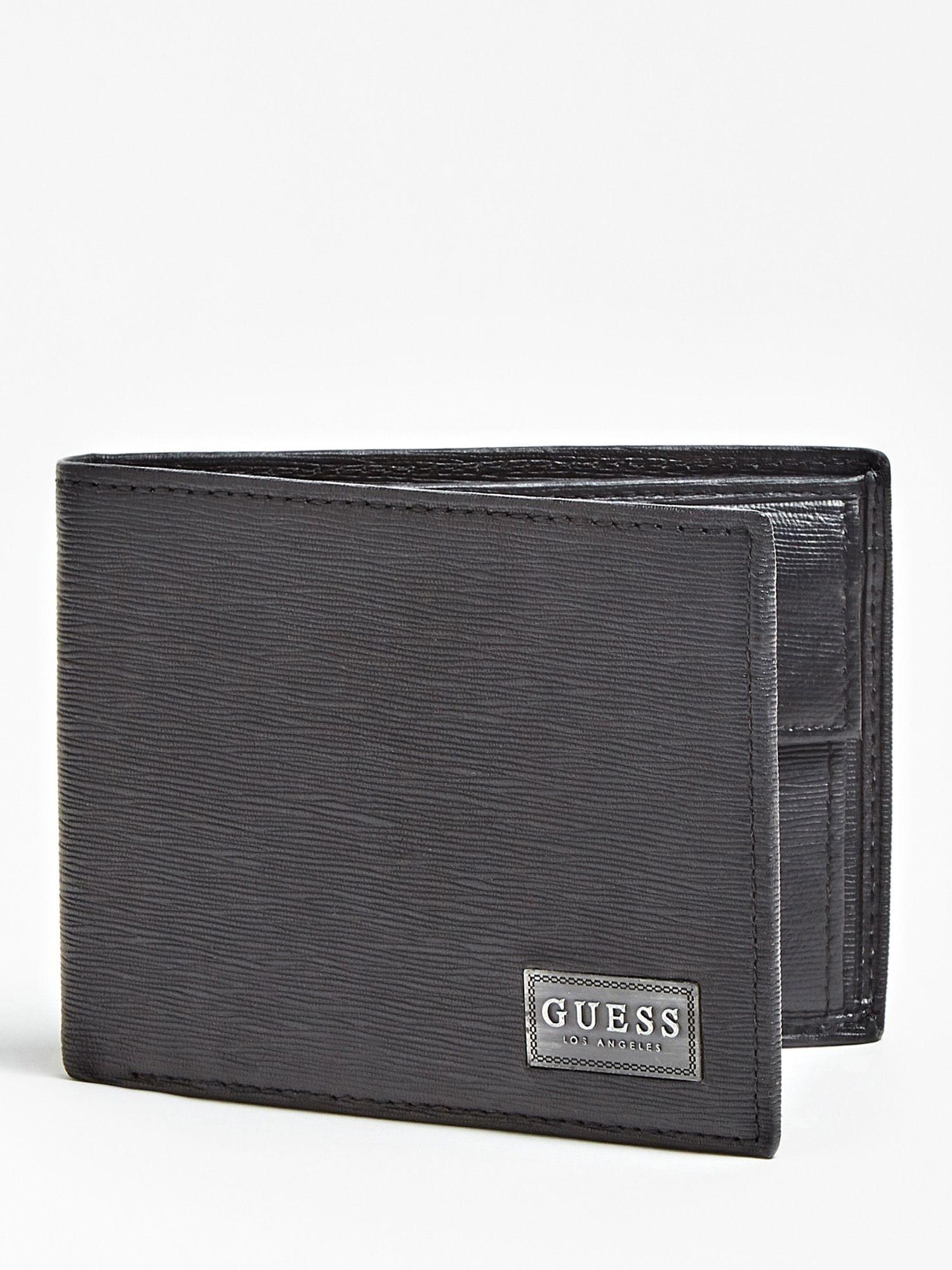 Portemonnaie | Accessoires > Portemonnaies > Sonstige Portemonnaies | Schwarz | Guess