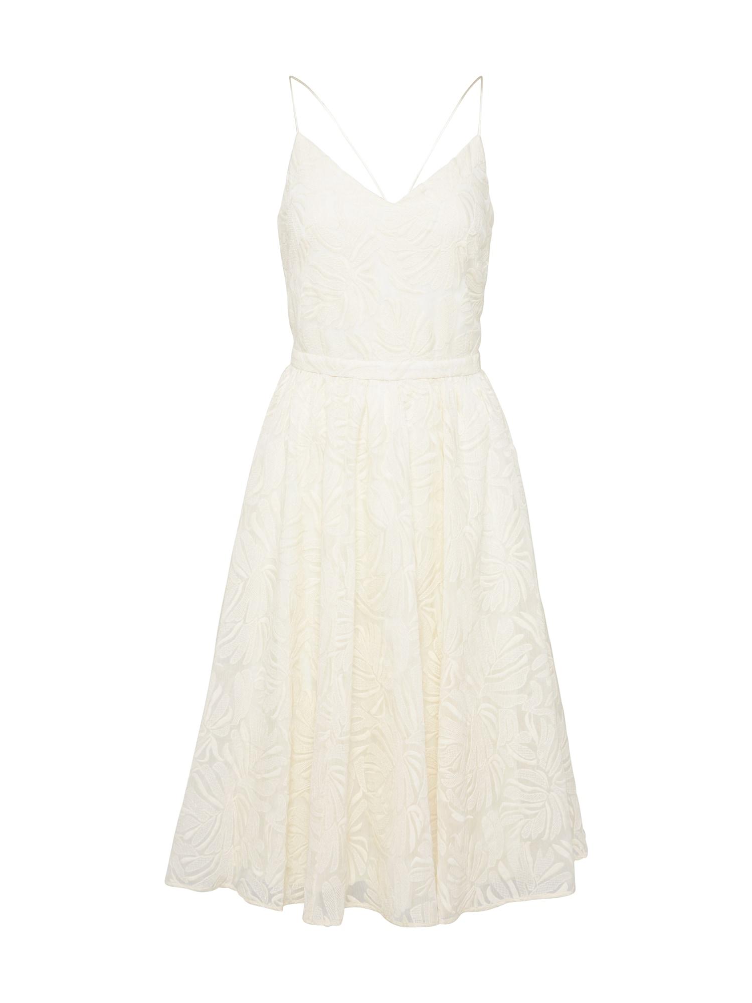 Koktejlové šaty LOVE NIGHT bílá Sessun