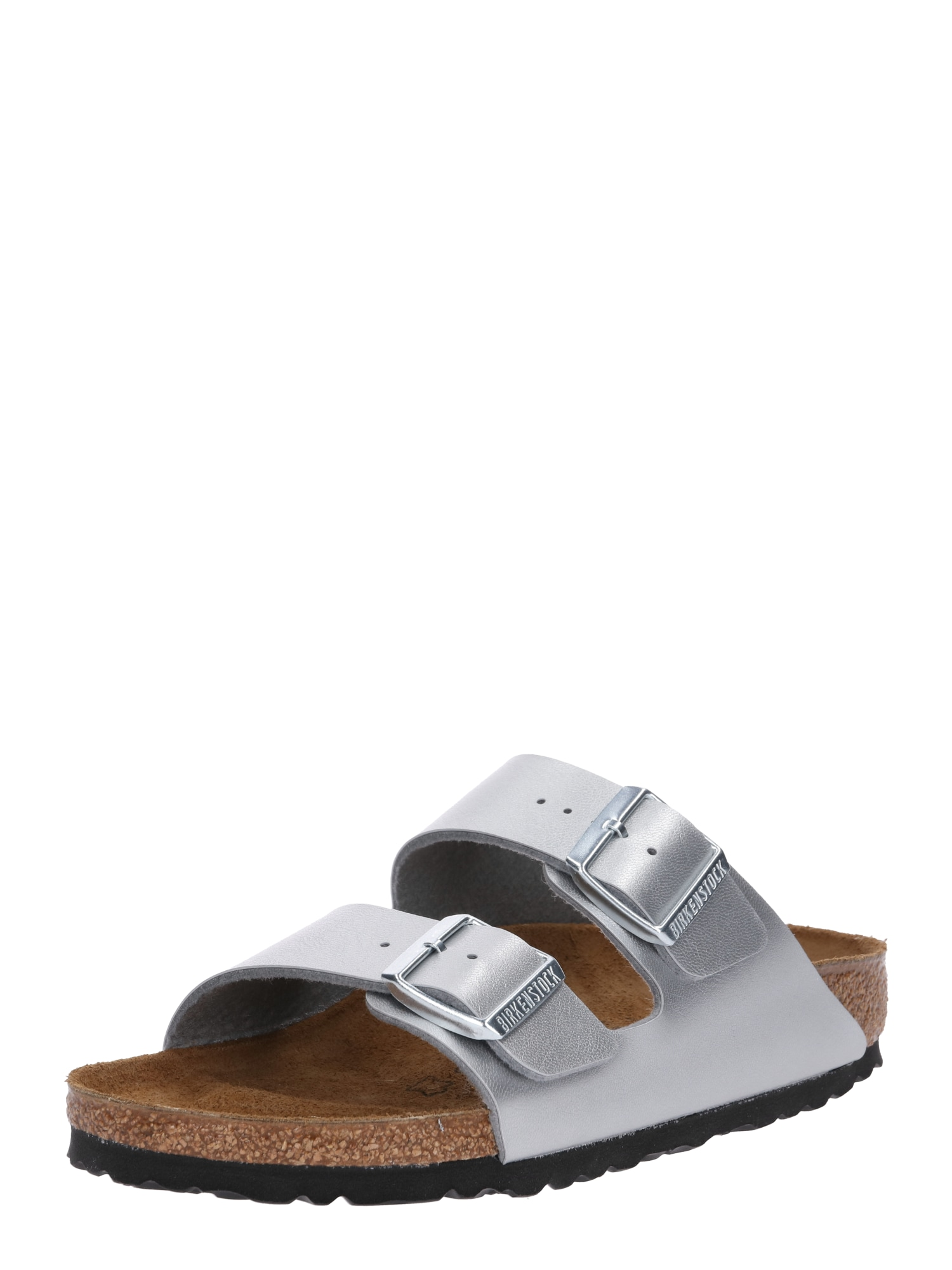 Pantofle Arizona stříbrná BIRKENSTOCK