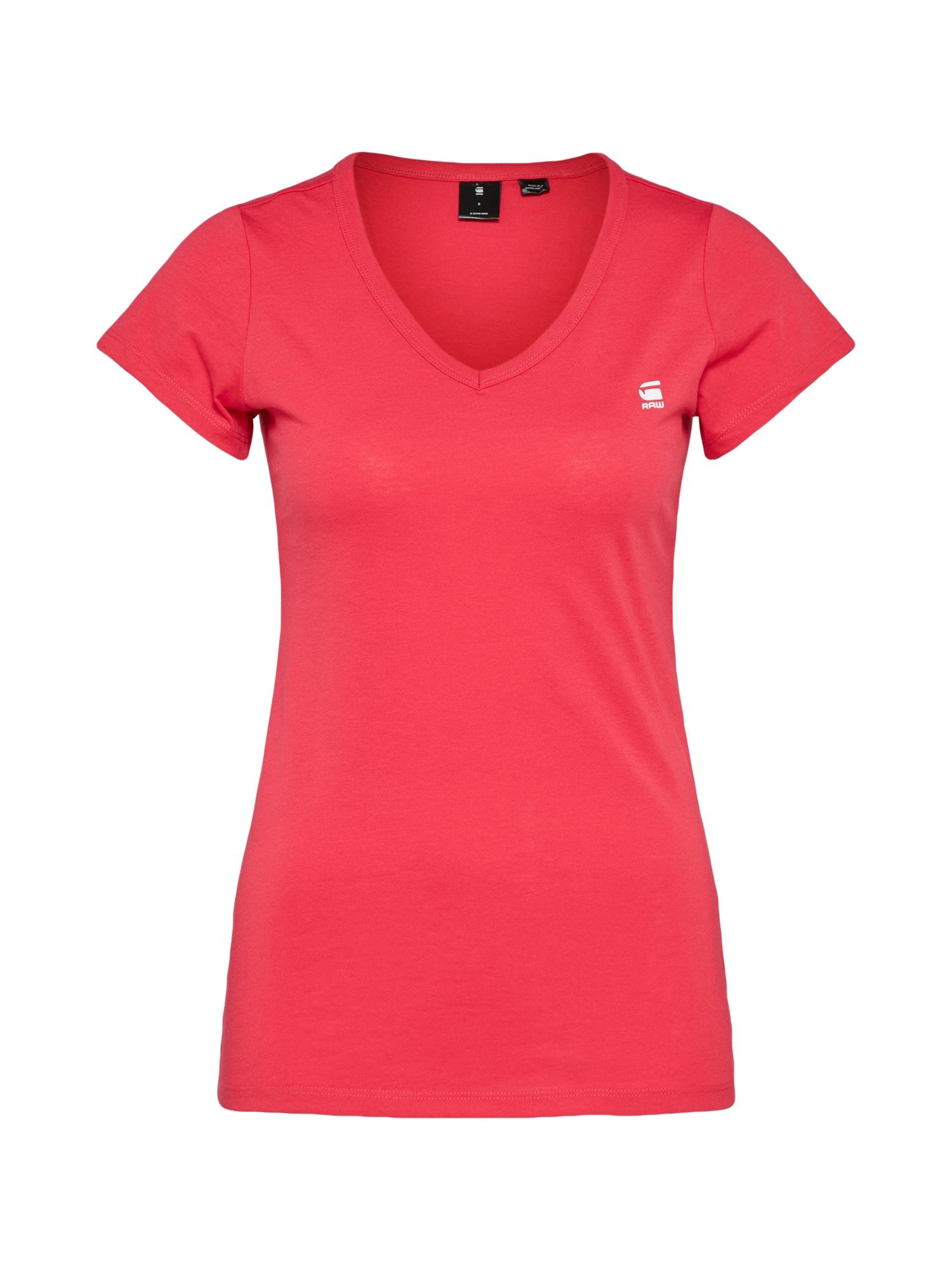 Tričko Eyben V pink G-STAR RAW