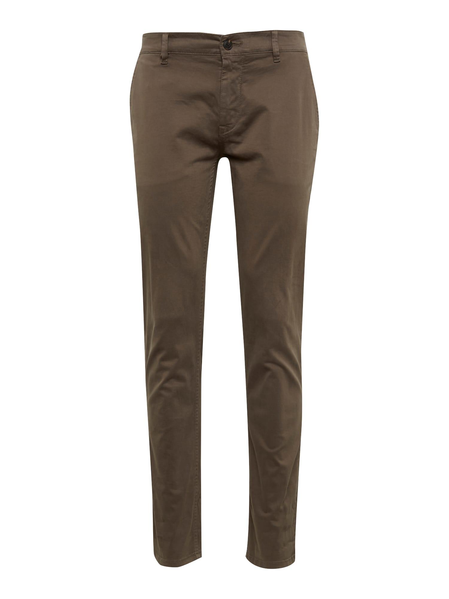 Chino kalhoty Schino-Slim D mokka BOSS