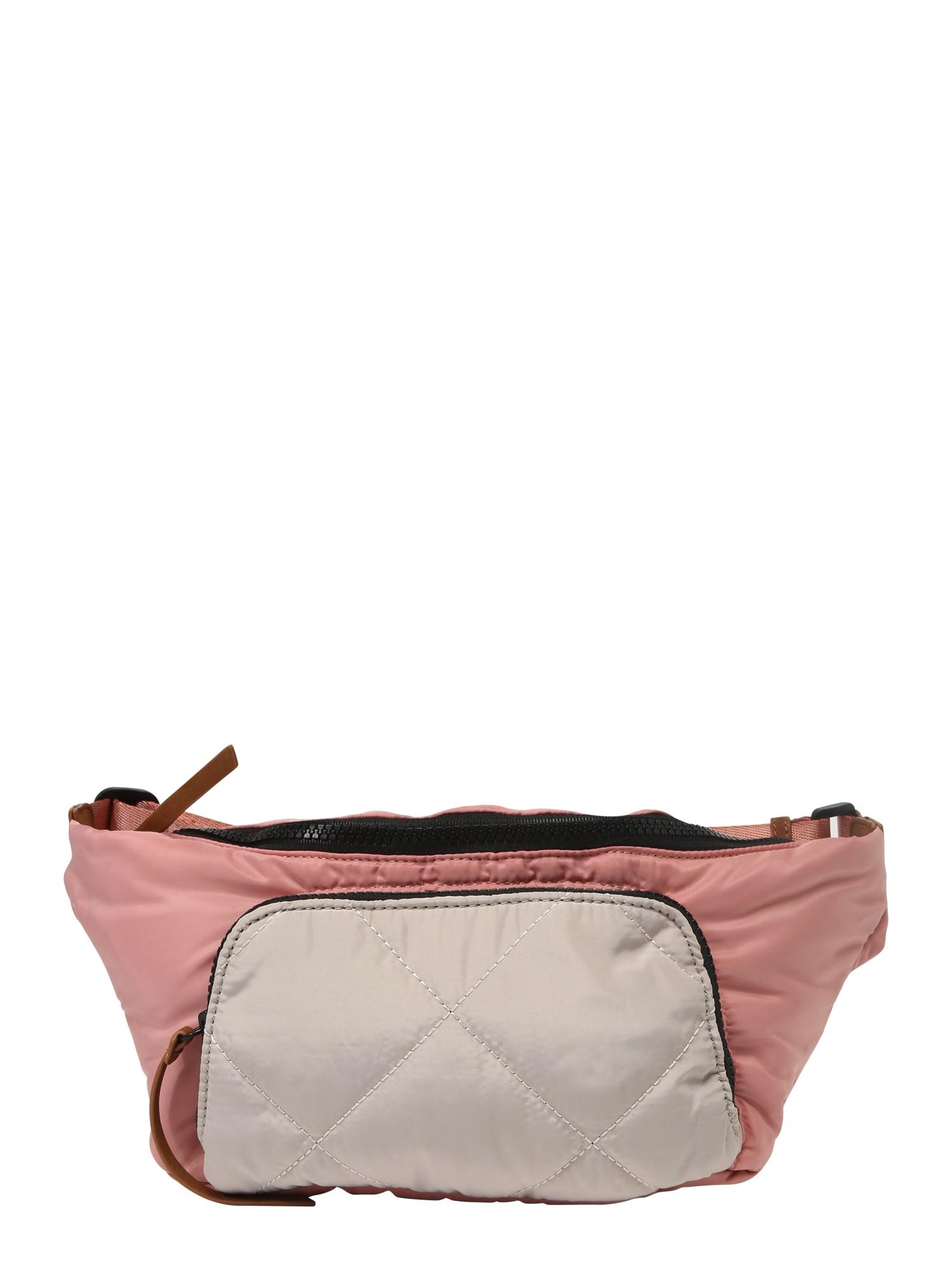 Ledvinka PCSANTINO BUM BAG růžová PIECES