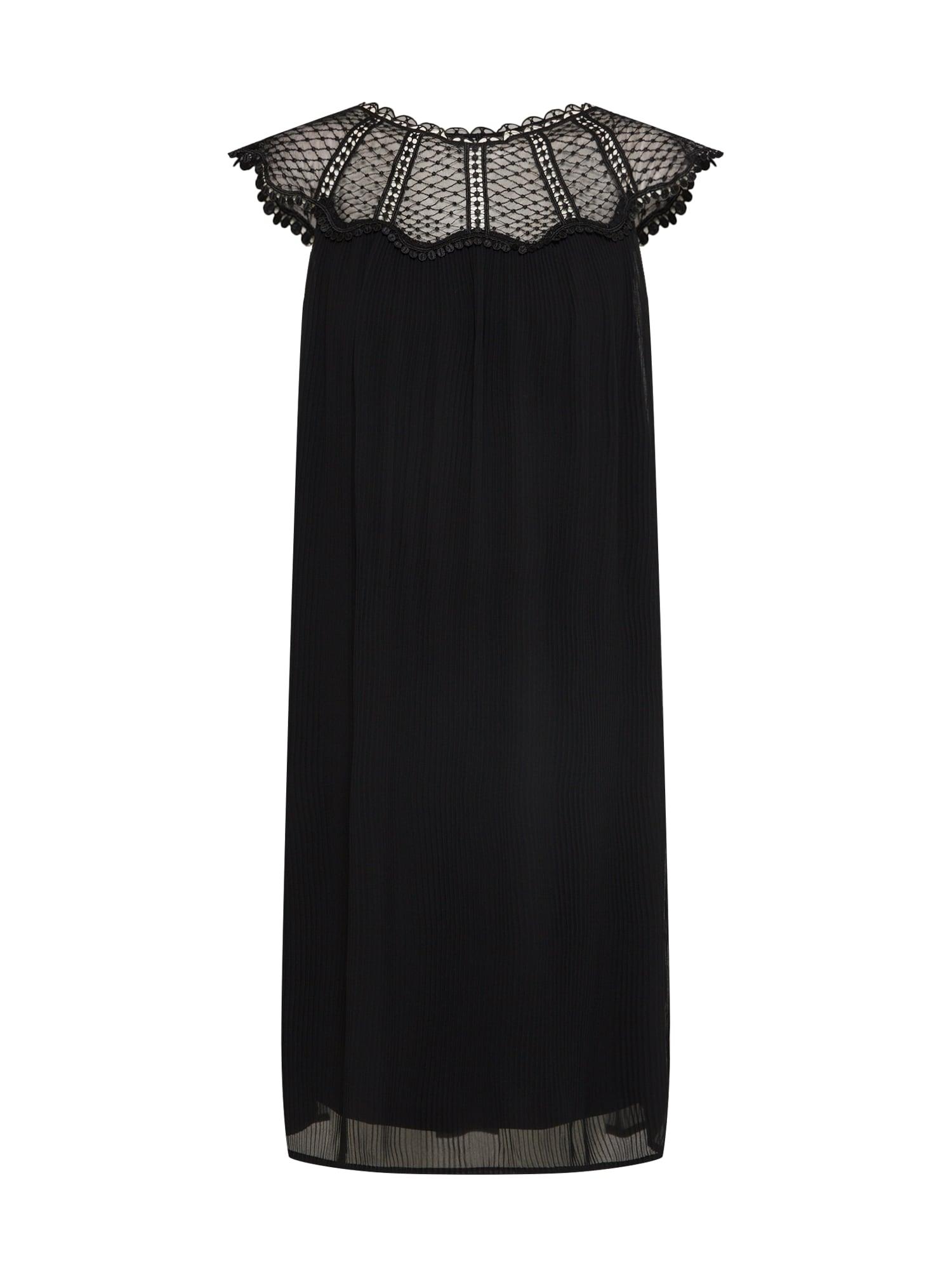 Šaty VIKIVA černá VILA