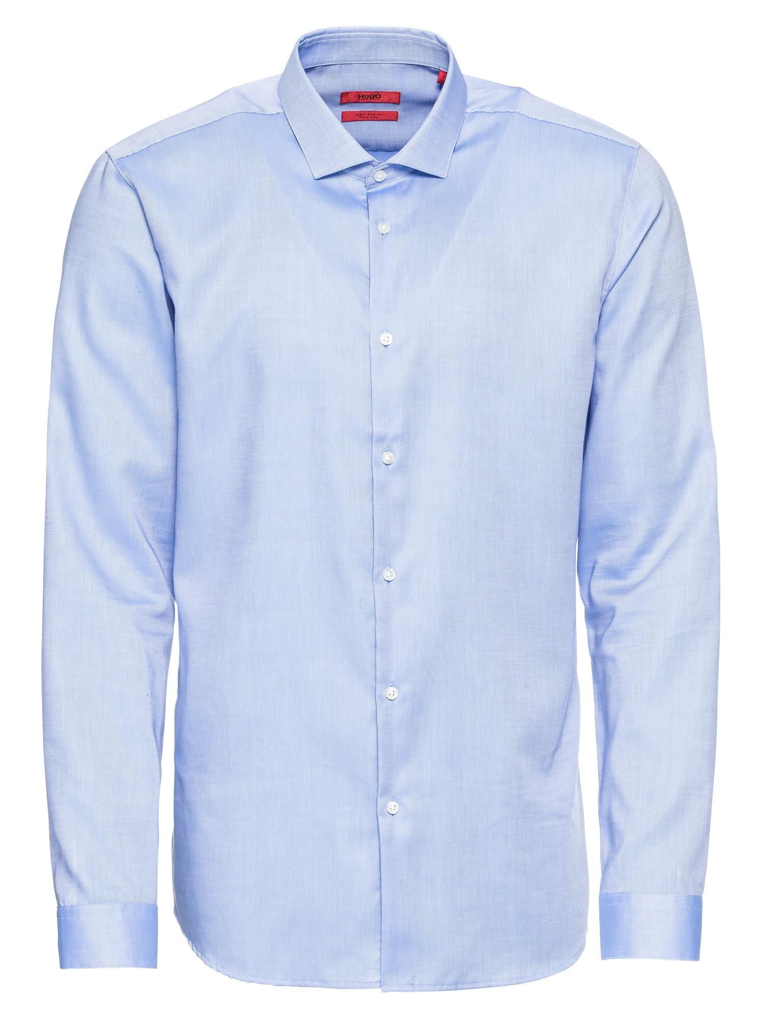Společenská košile Erondo 10178343 01 modrá bílá HUGO