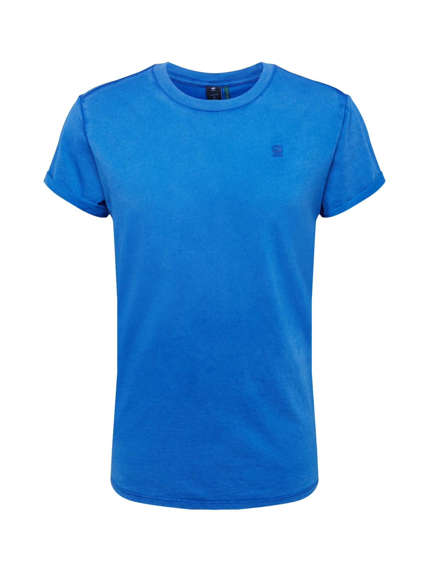 Tričko Shelo modrá G-STAR RAW