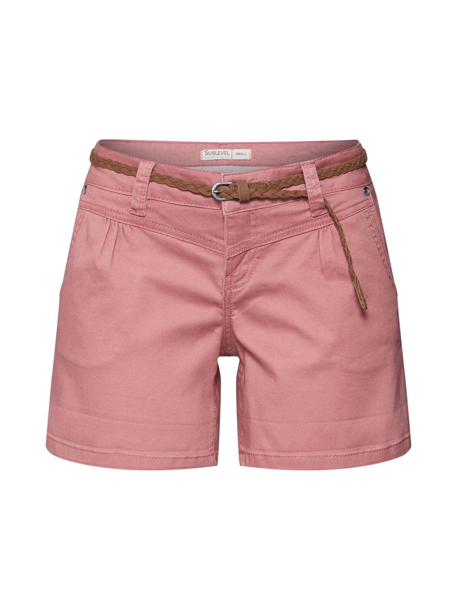 Kalhoty růžová Sublevel