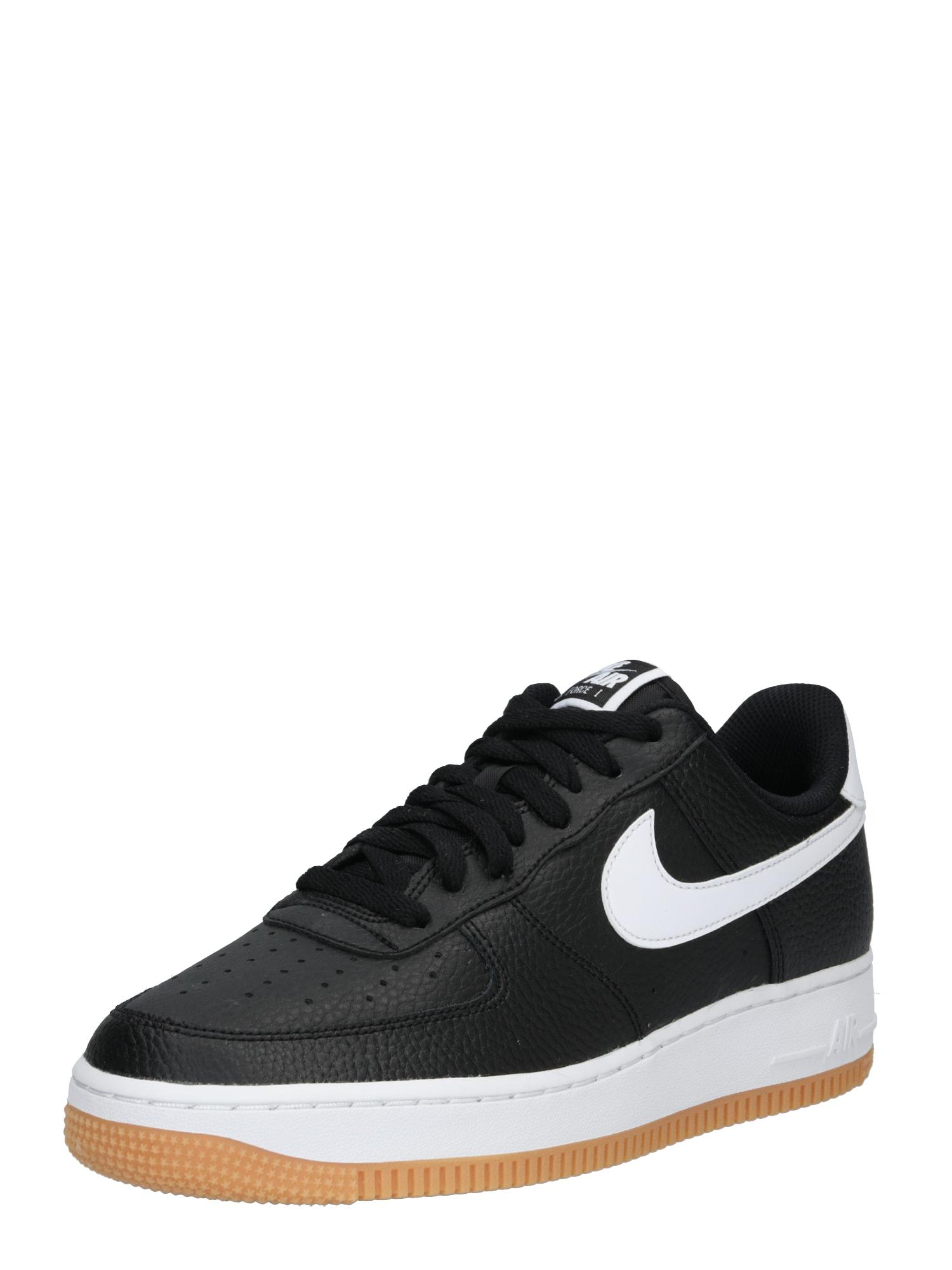 Tenisky AIR FORCE 1 07 2FA19 černá bílá Nike Sportswear