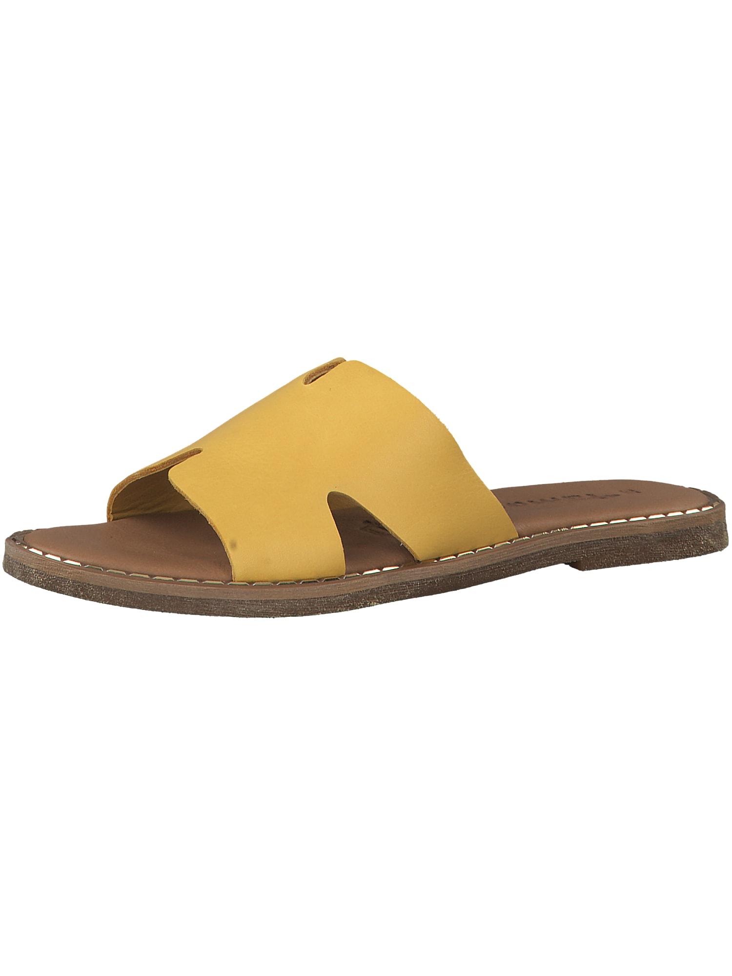 Pantofle žlutá TAMARIS