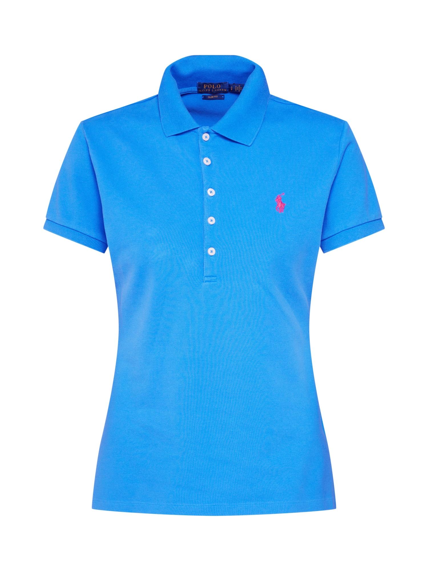 Tričko JULIE modrá červená POLO RALPH LAUREN