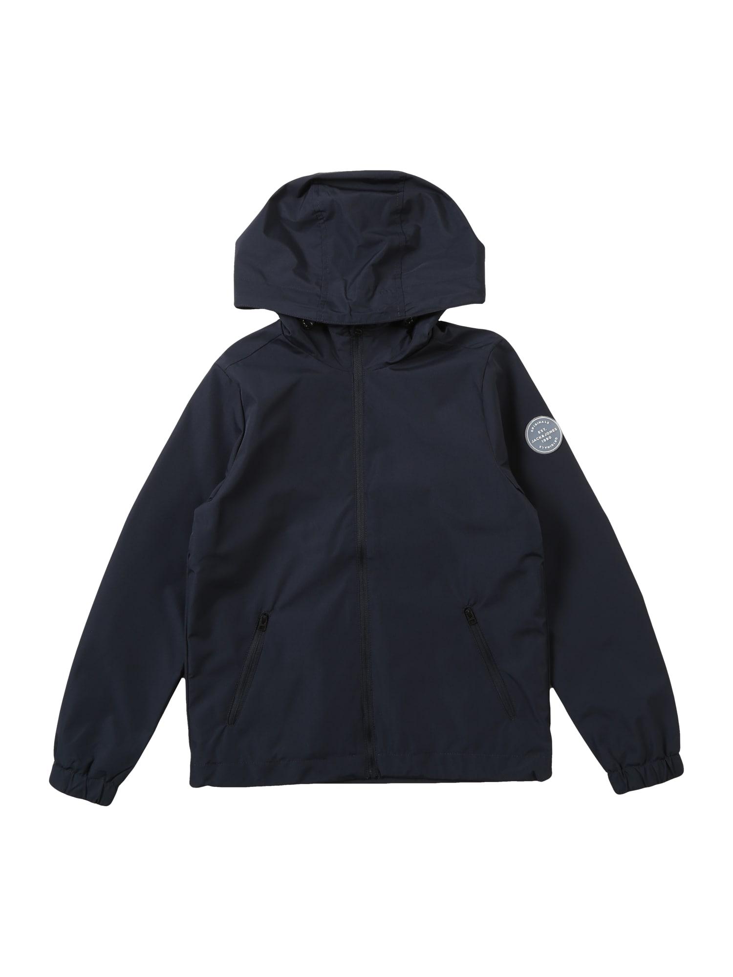 Přechodná bunda Glave tmavě modrá Jack & Jones Junior