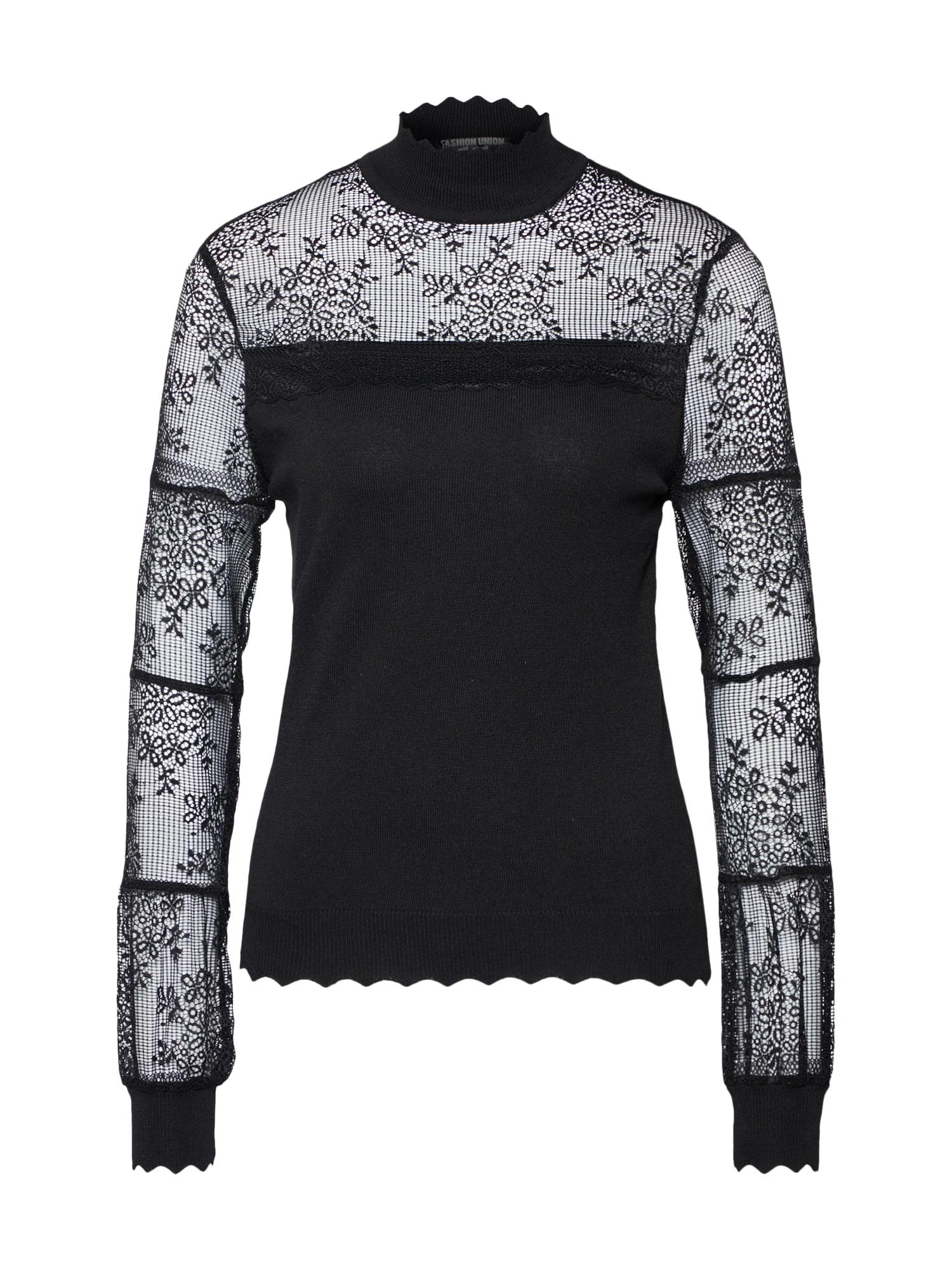 Halenka LACEY černá Fashion Union