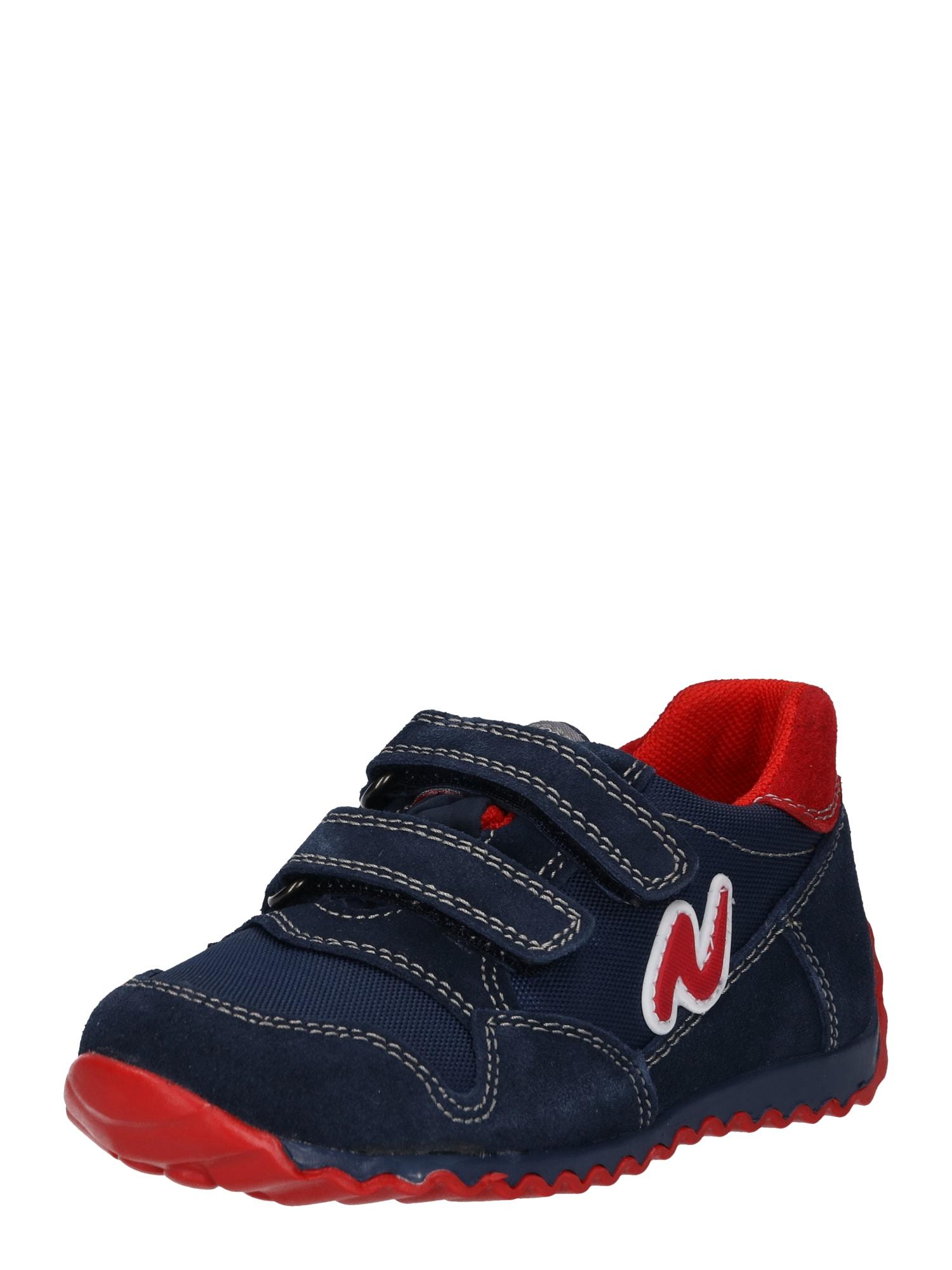 Polobotky Jackson námořnická modř červená NATURINO