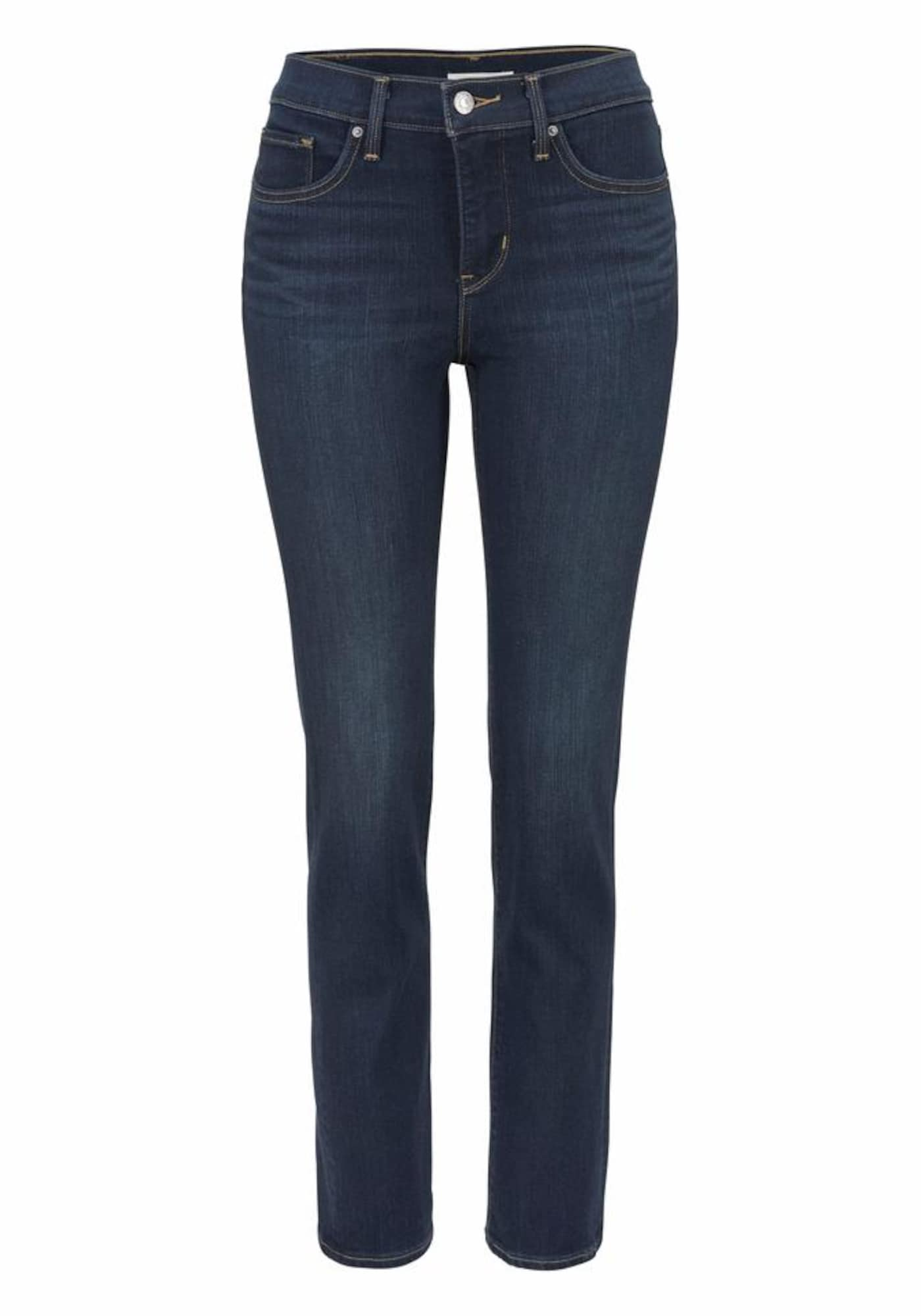 LEVI'S Dames Jeans Shaping Slim 312 donkerblauw