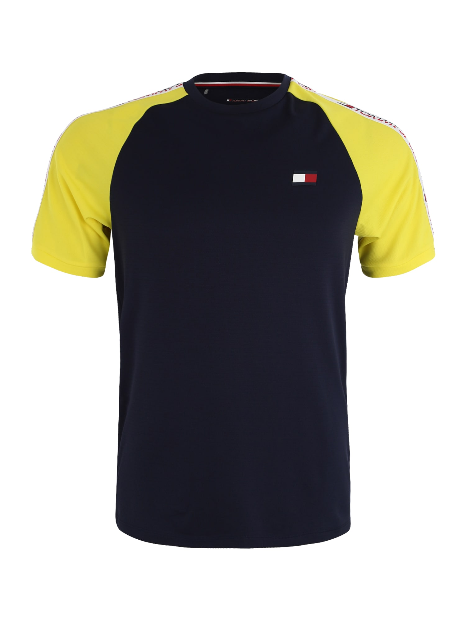 Funkční tričko námořnická modř žlutá bílá Tommy Sport