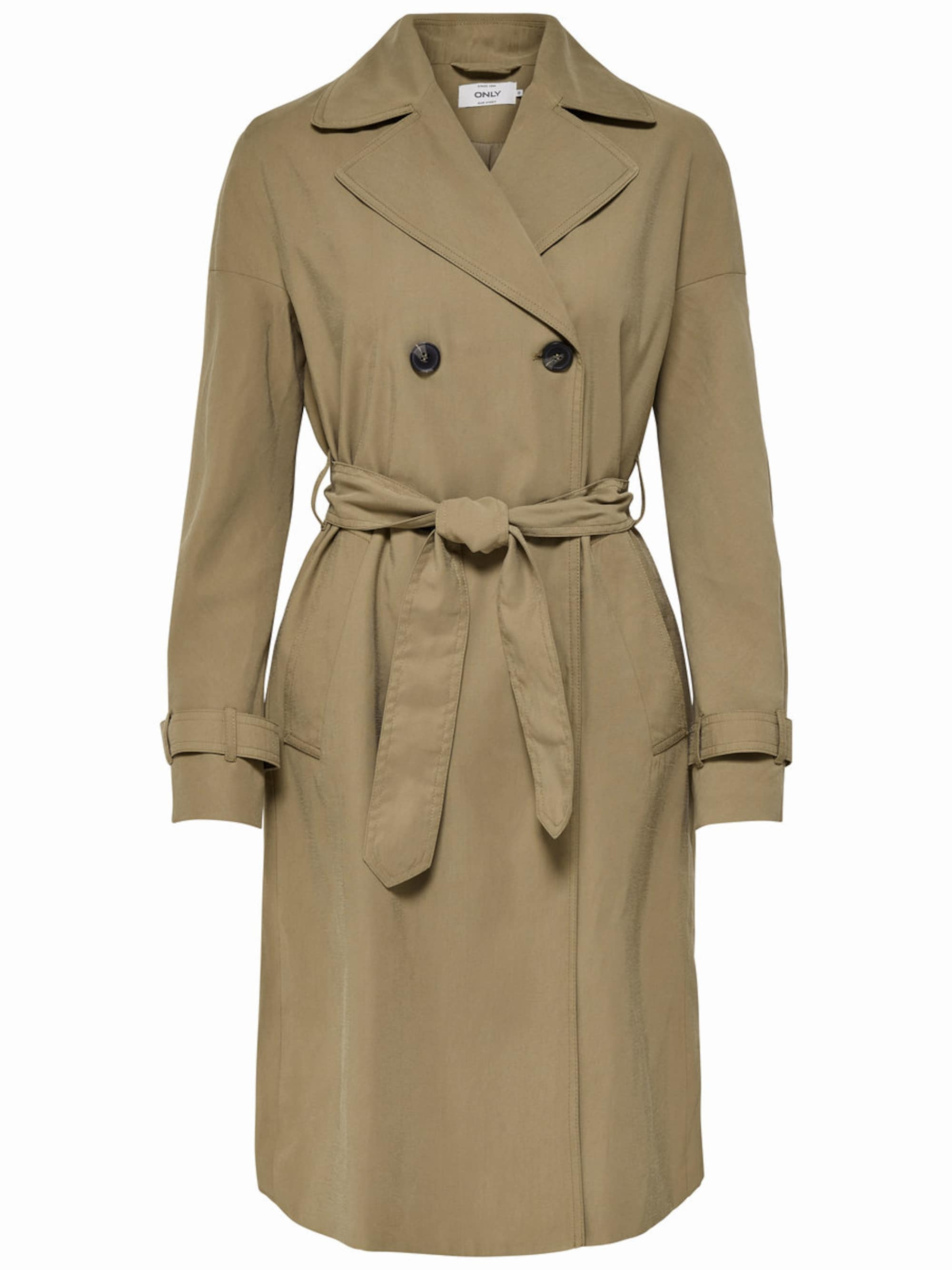 only - Einfarbiger Trenchcoat