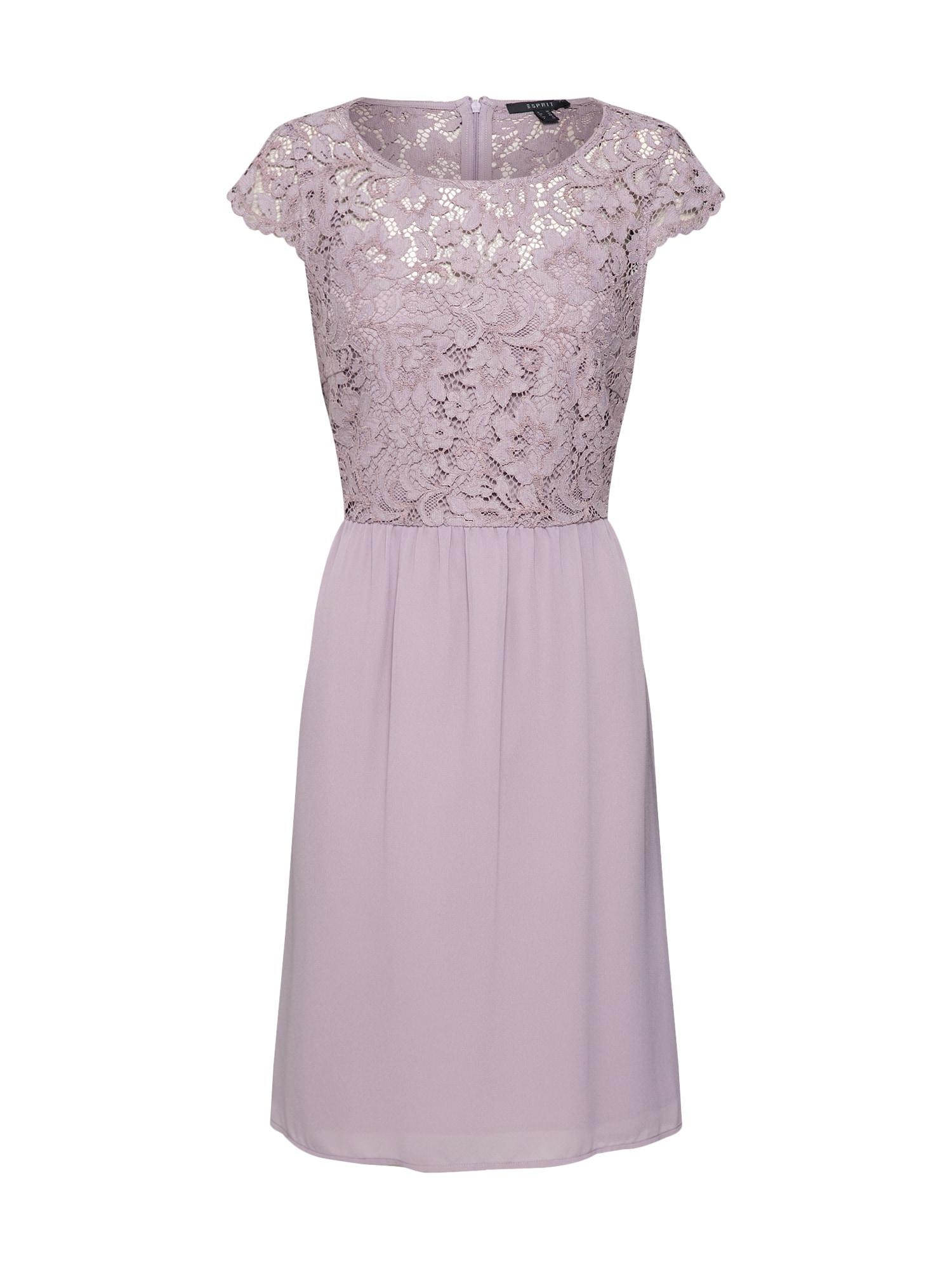 Šaty bledě fialová Esprit Collection
