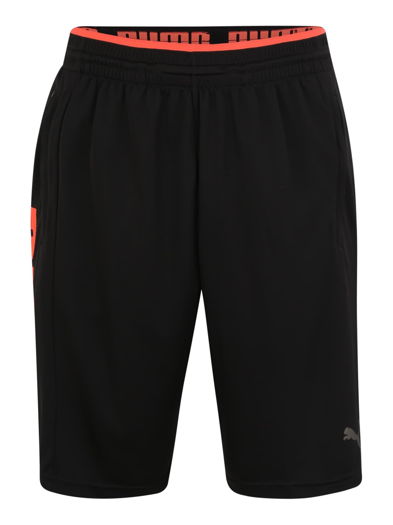 Sportovní kalhoty Collective Knit humrová černá PUMA