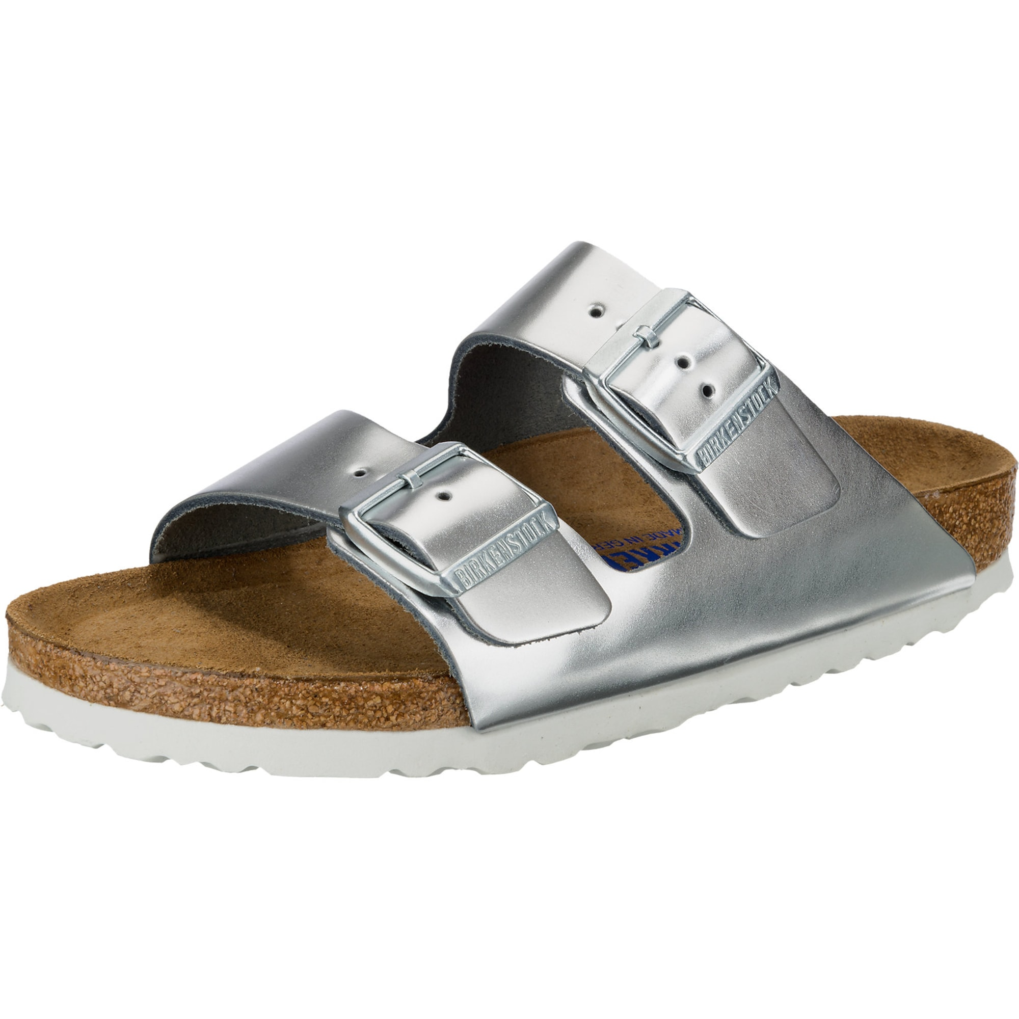 Pantofle Arizona BS stříbrná BIRKENSTOCK