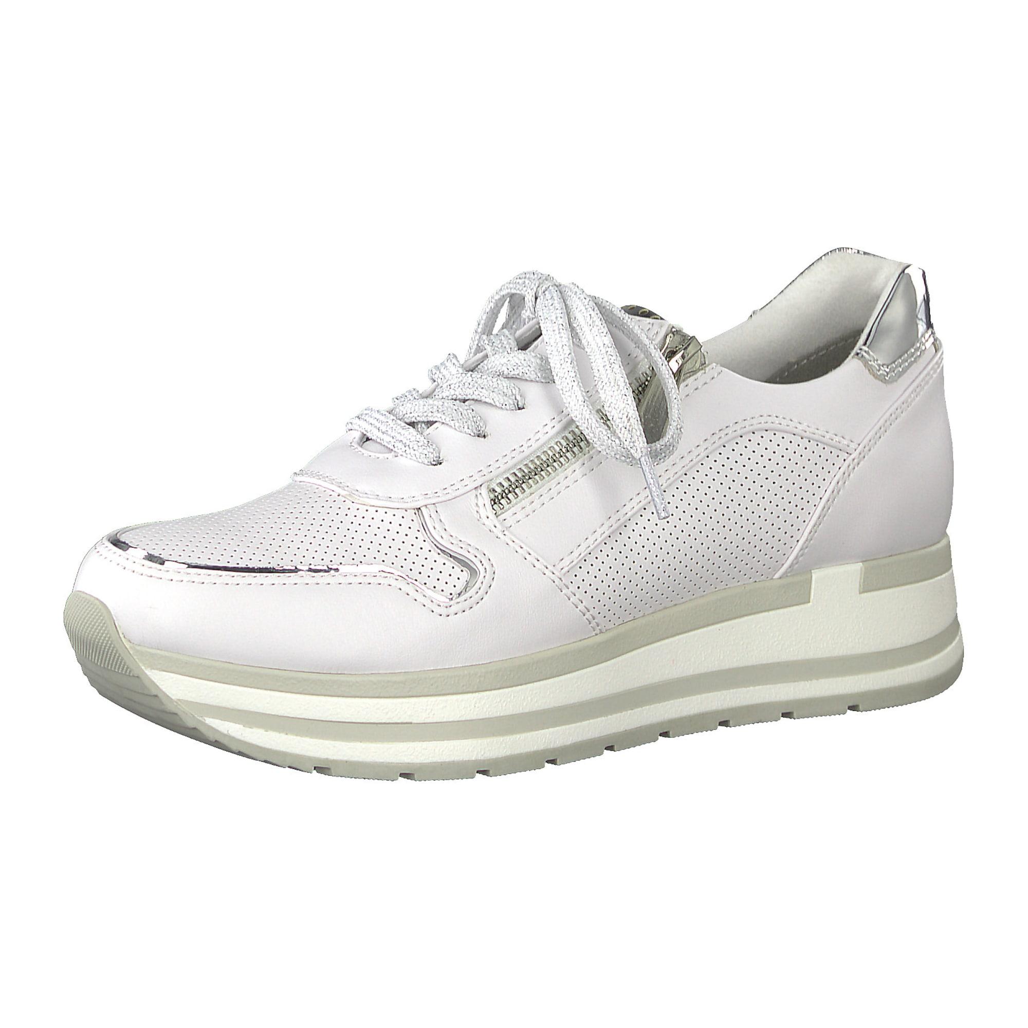 Tenisky stříbrná bílá MARCO TOZZI