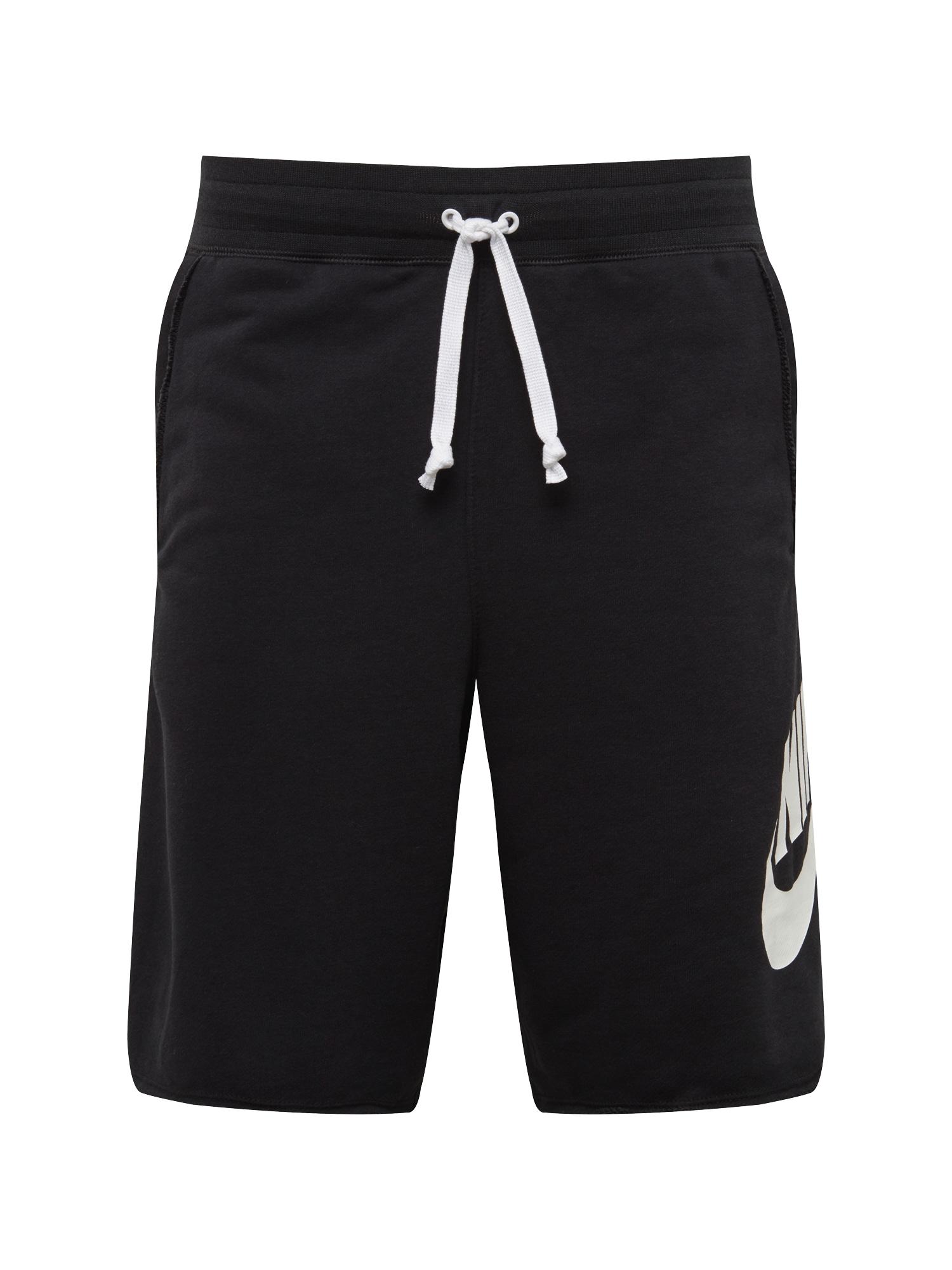 Kalhoty NSW Alumni černá bílá Nike Sportswear