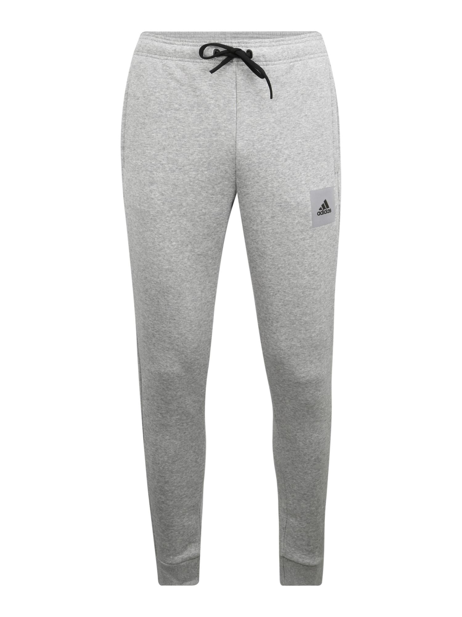 ADIDAS PERFORMANCE Sportovní kalhoty  světle šedá