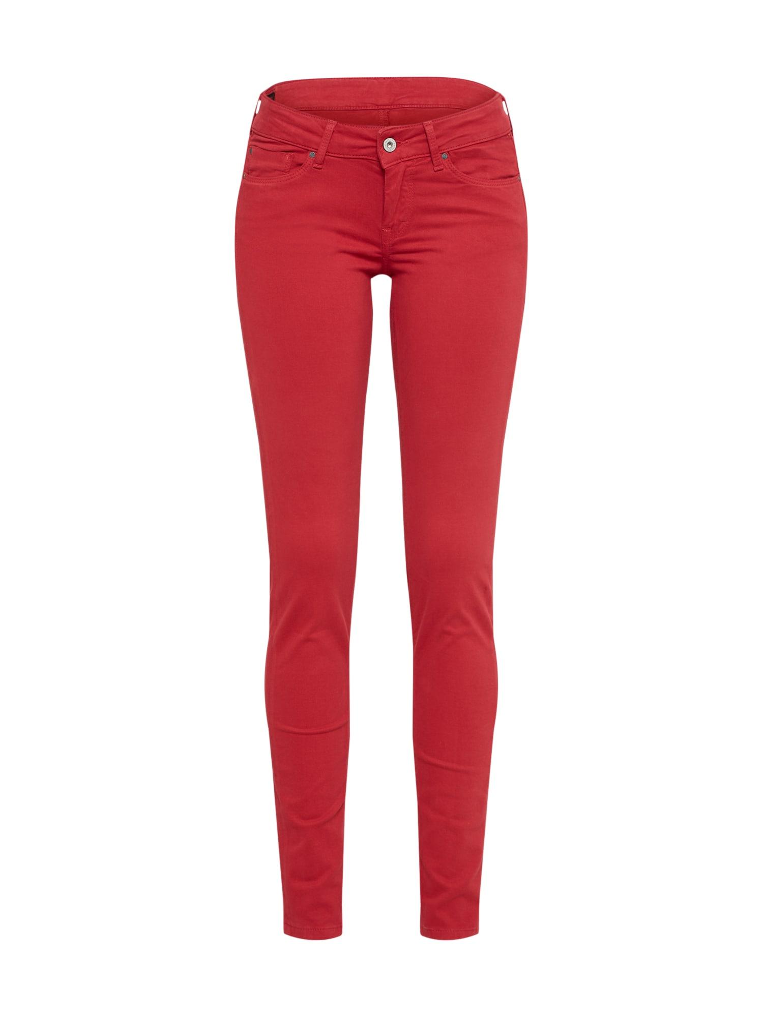 Džíny Soho červená Pepe Jeans