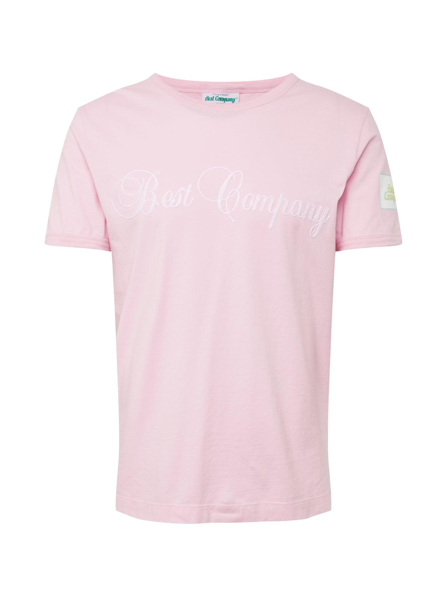 Tričko světlemodrá žlutá růžová bílá Best Company