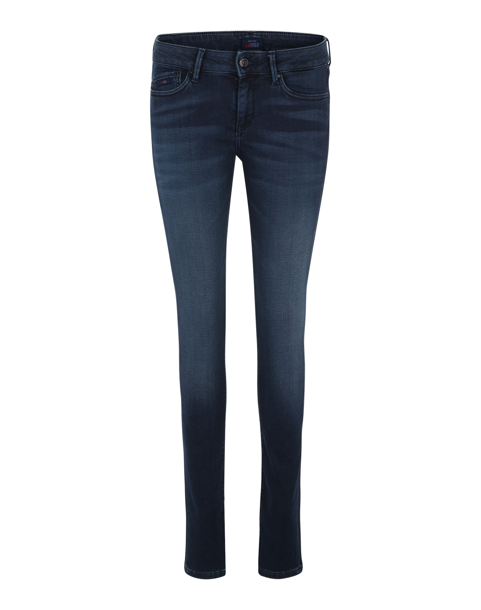 Pepe Jeans Dames Jeans Pixie donkerblauw