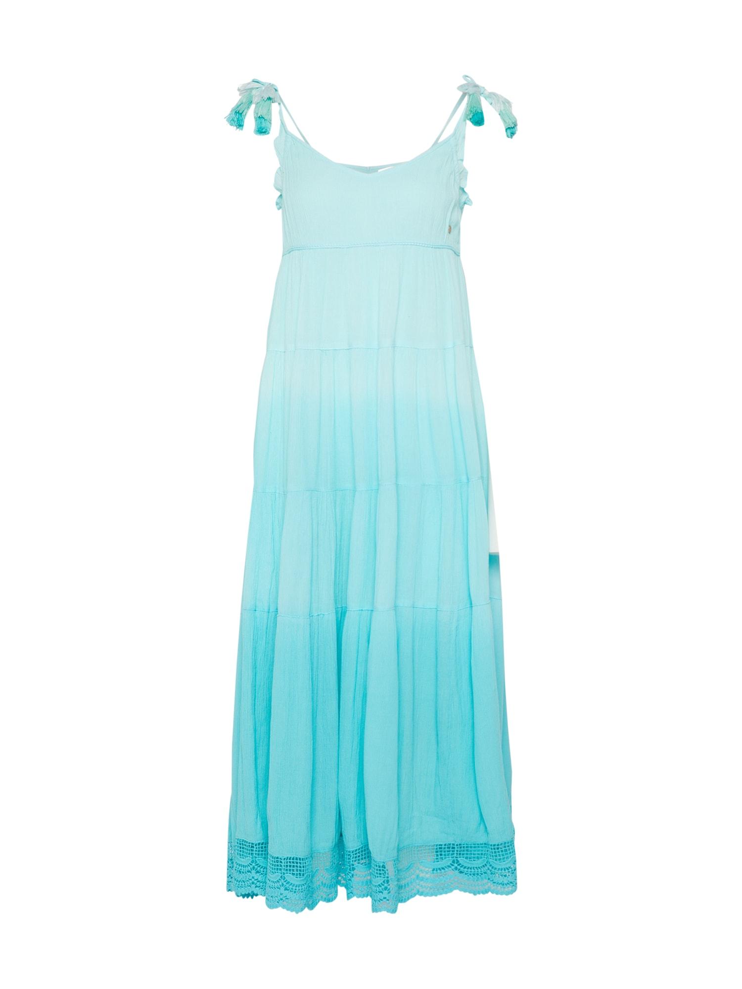 Khujo, Dames Zomerjurk 'SUMY', turquoise / aqua / lichtblauw