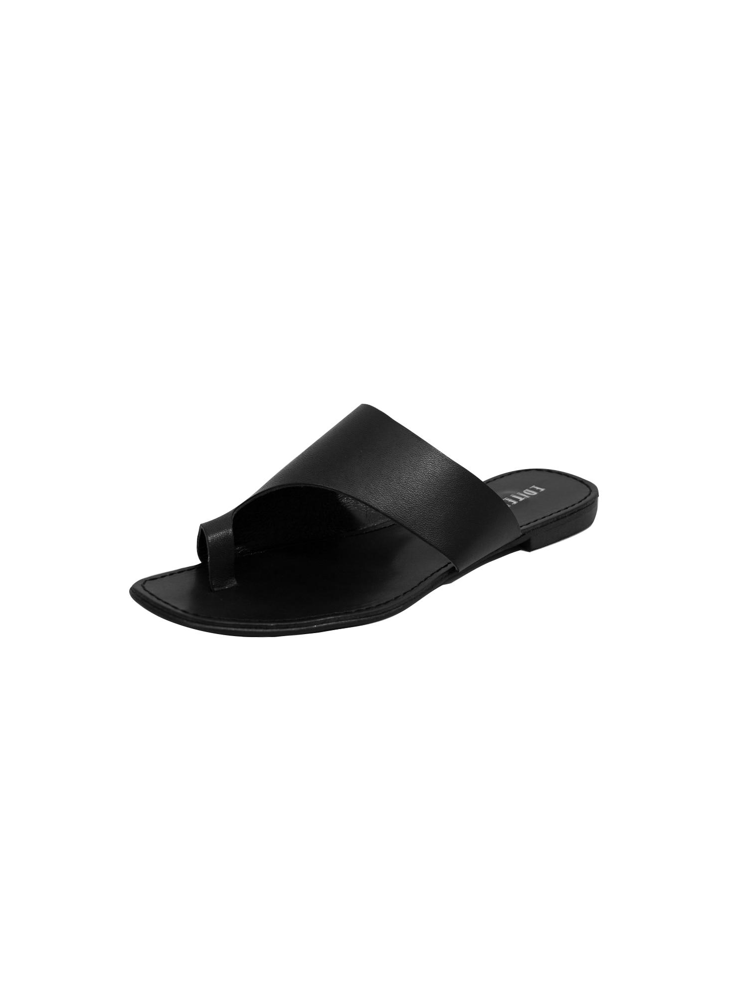 Pantofle Delfia černá EDITED