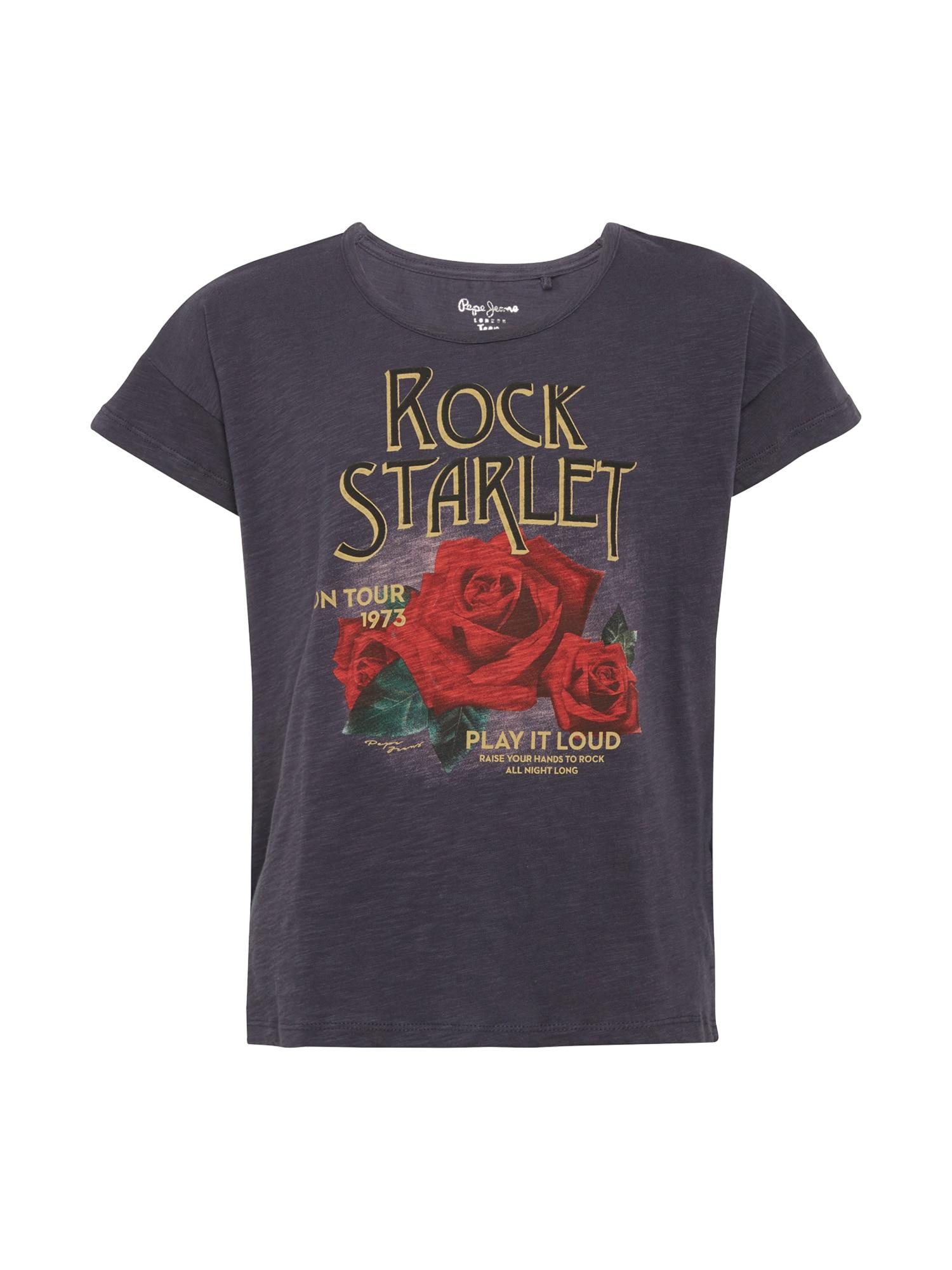 Pepe Jeans Meisjes Shirt YVETTE TEEN donkerblauw