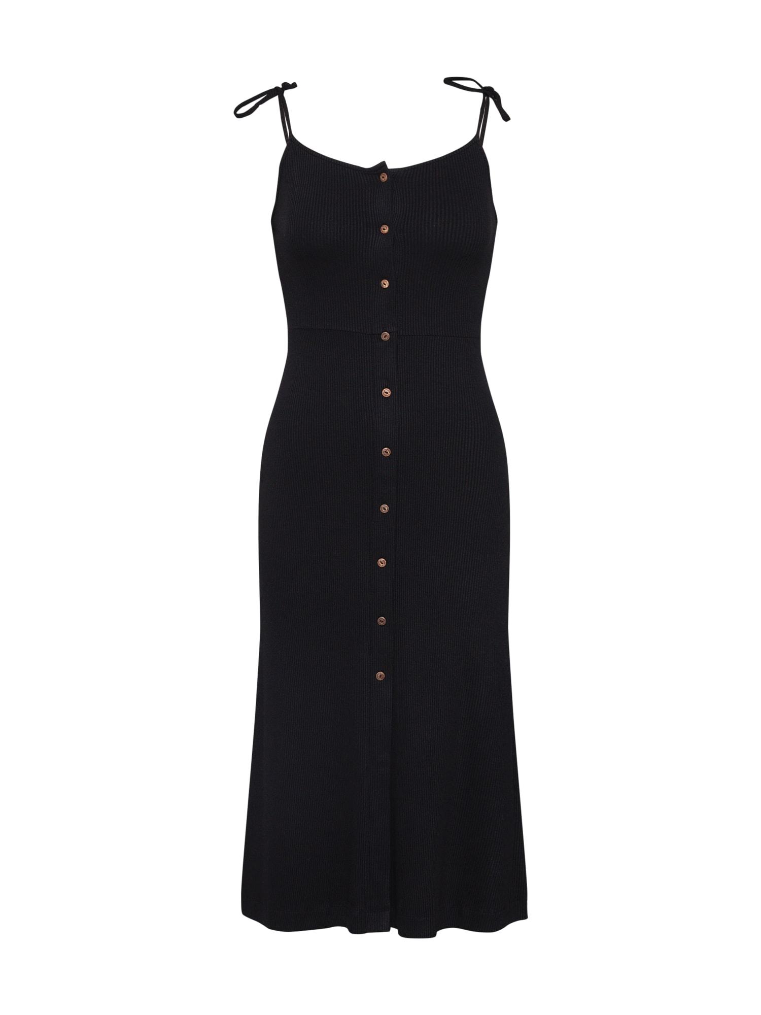 Letní šaty CHARLOTTE černá Superdry
