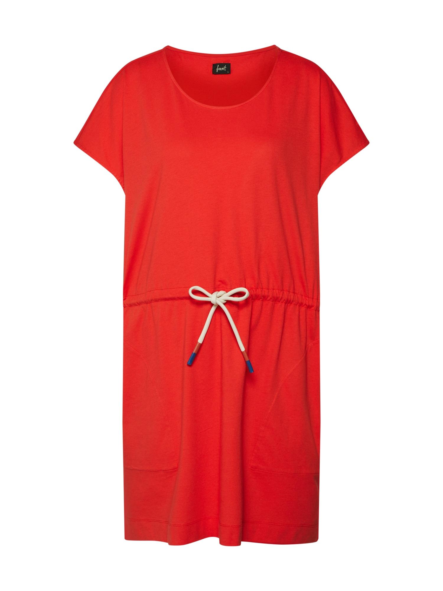Letní šaty Tapil červená Forvert