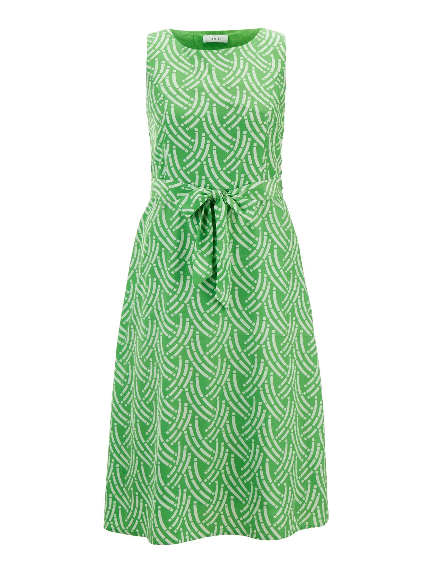 Letní šaty zelená bílá Heine