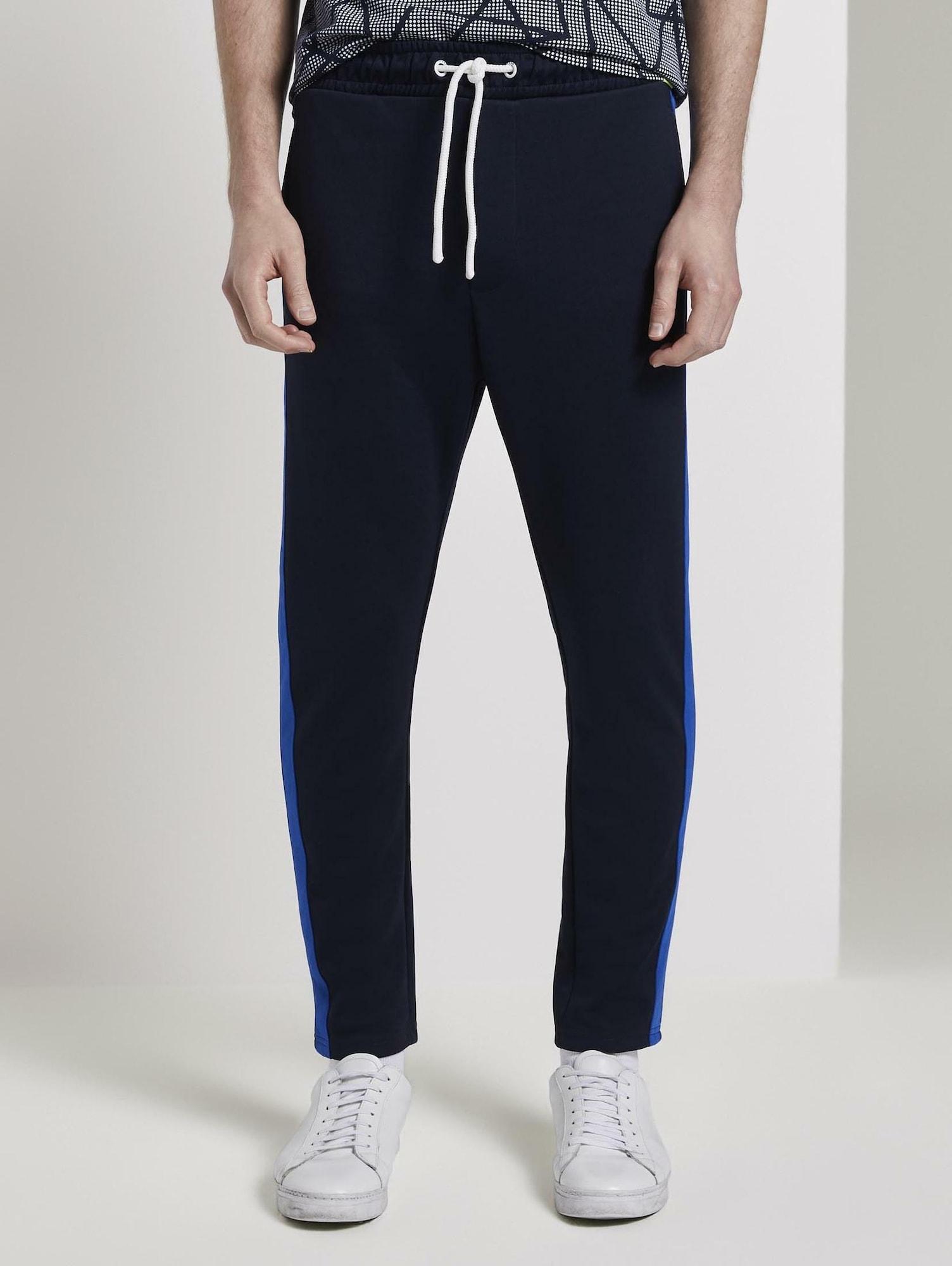 TOM TAILOR DENIM Kalhoty  modrá