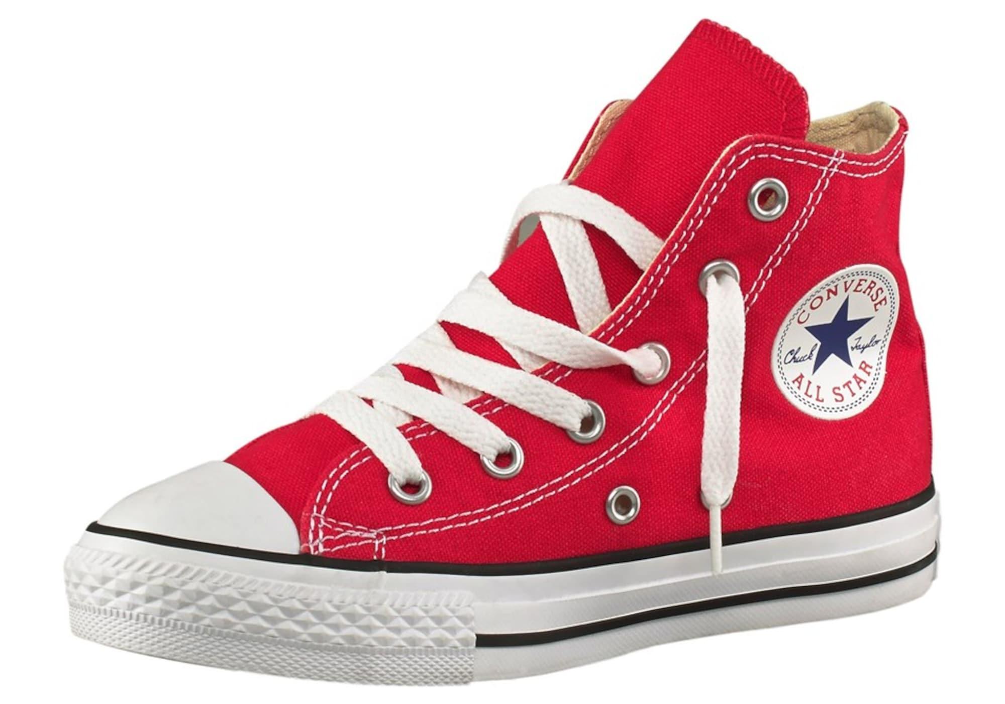 Tenisky Chuck Taylor Allstar červená černá bílá CONVERSE