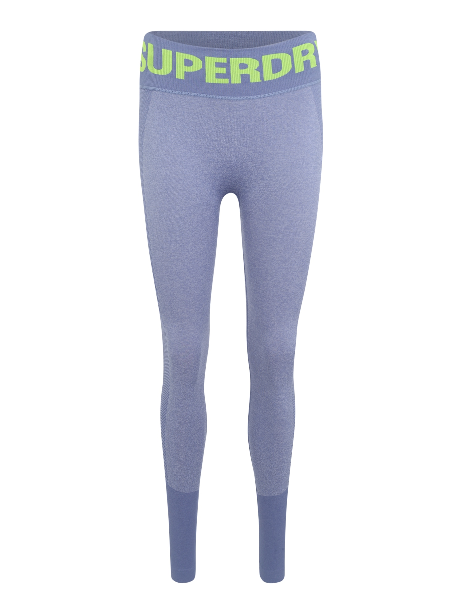 Sportovní kalhoty ACTIVE SEAMLESS svítivě žlutá šeříková Superdry
