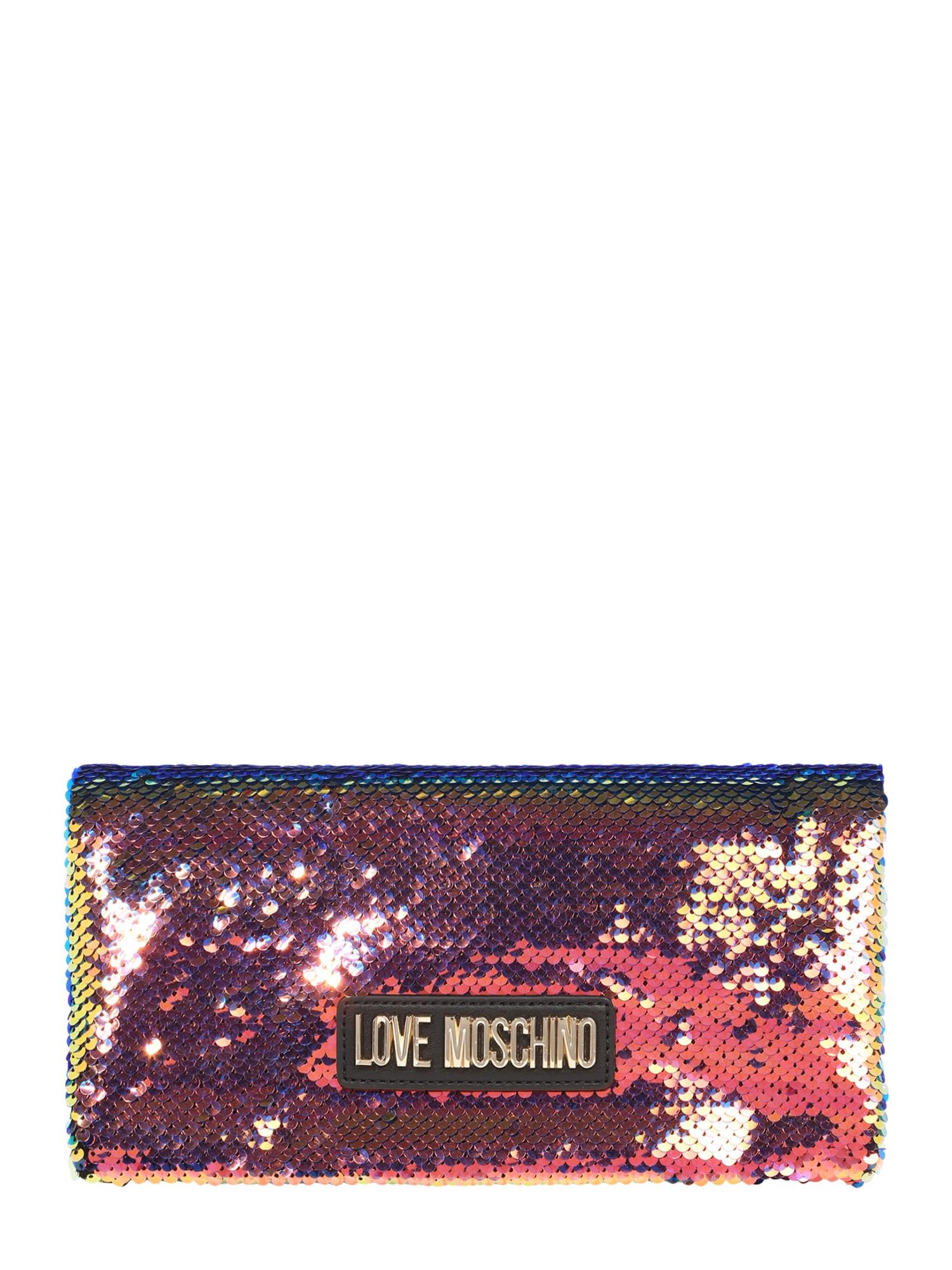 Taška přes rameno BORSA SEQUINS MULTICOLOR mix barev Love Moschino