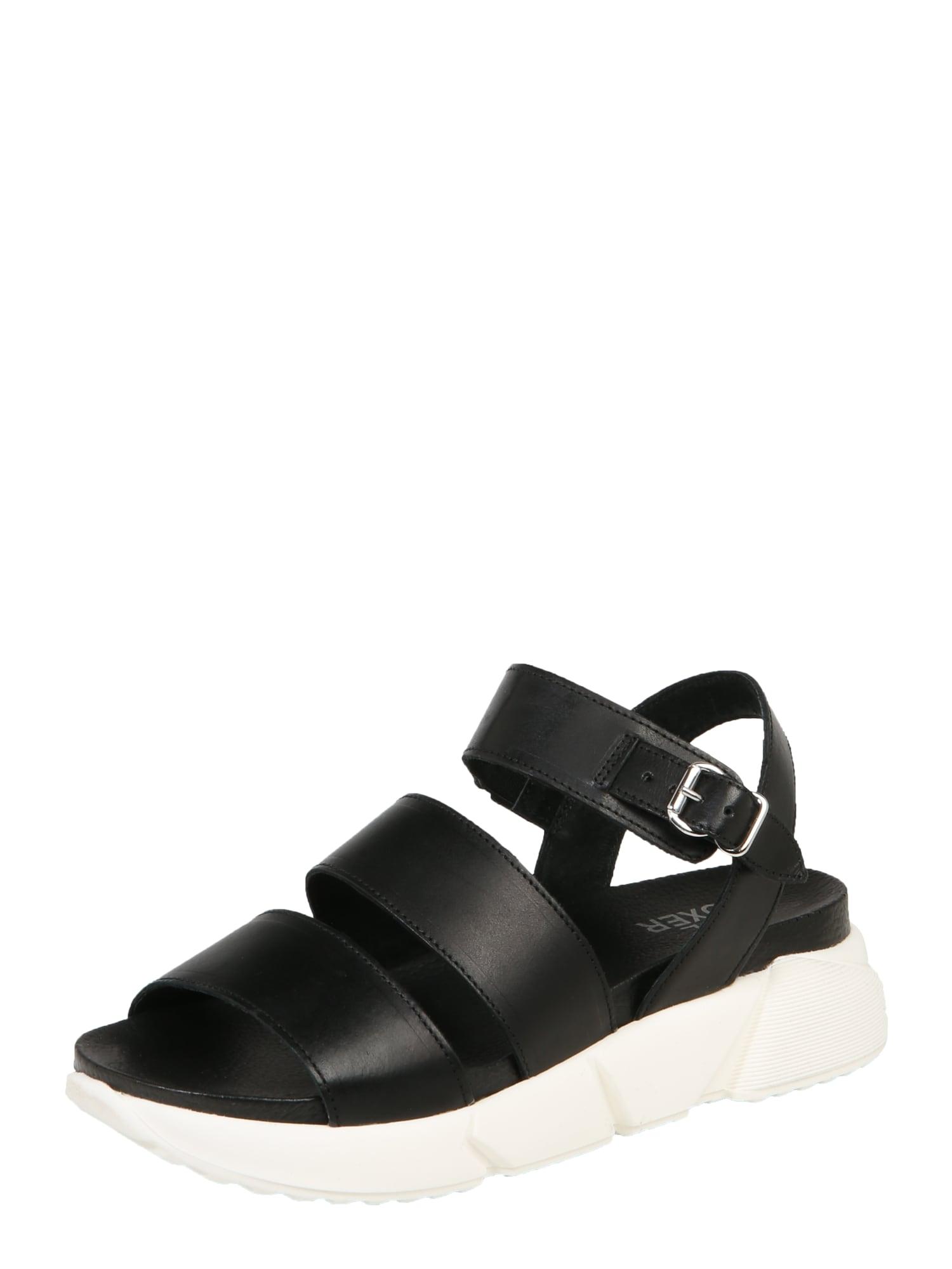 Sandály černá bílá BULLBOXER
