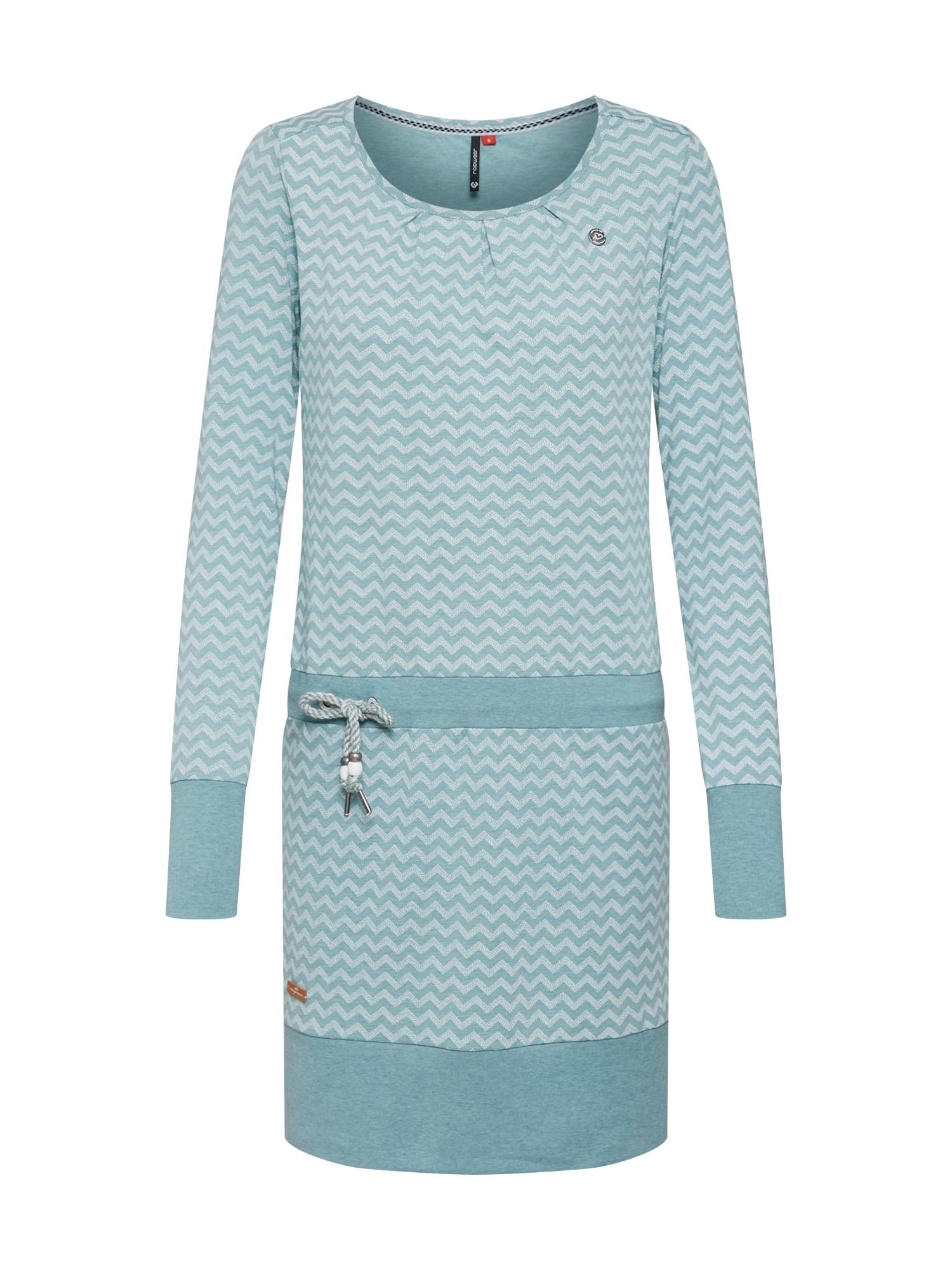 Šaty Alexa Zig Zag světlemodrá Ragwear