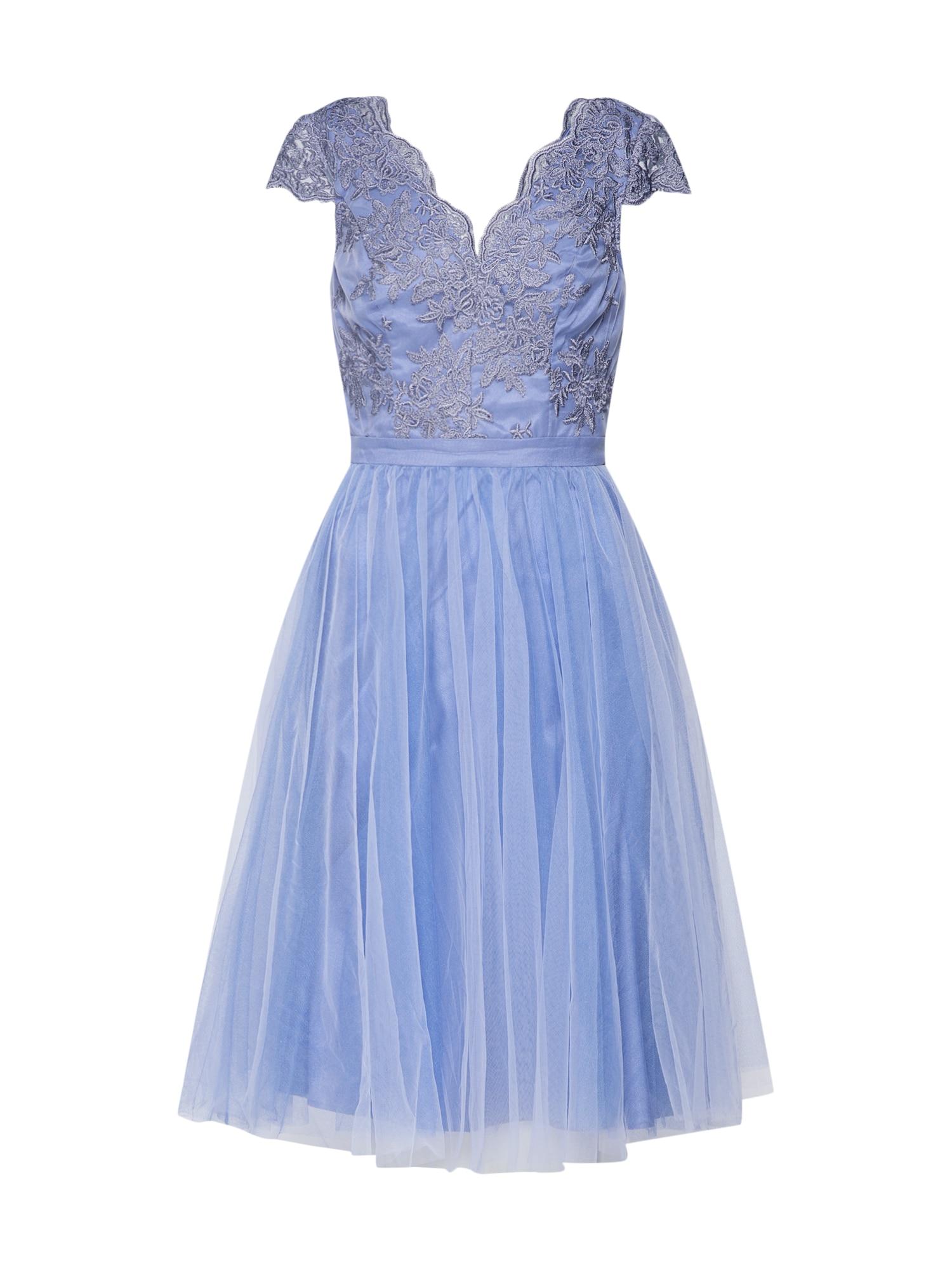 Šaty Marcha modrá Chi Chi London