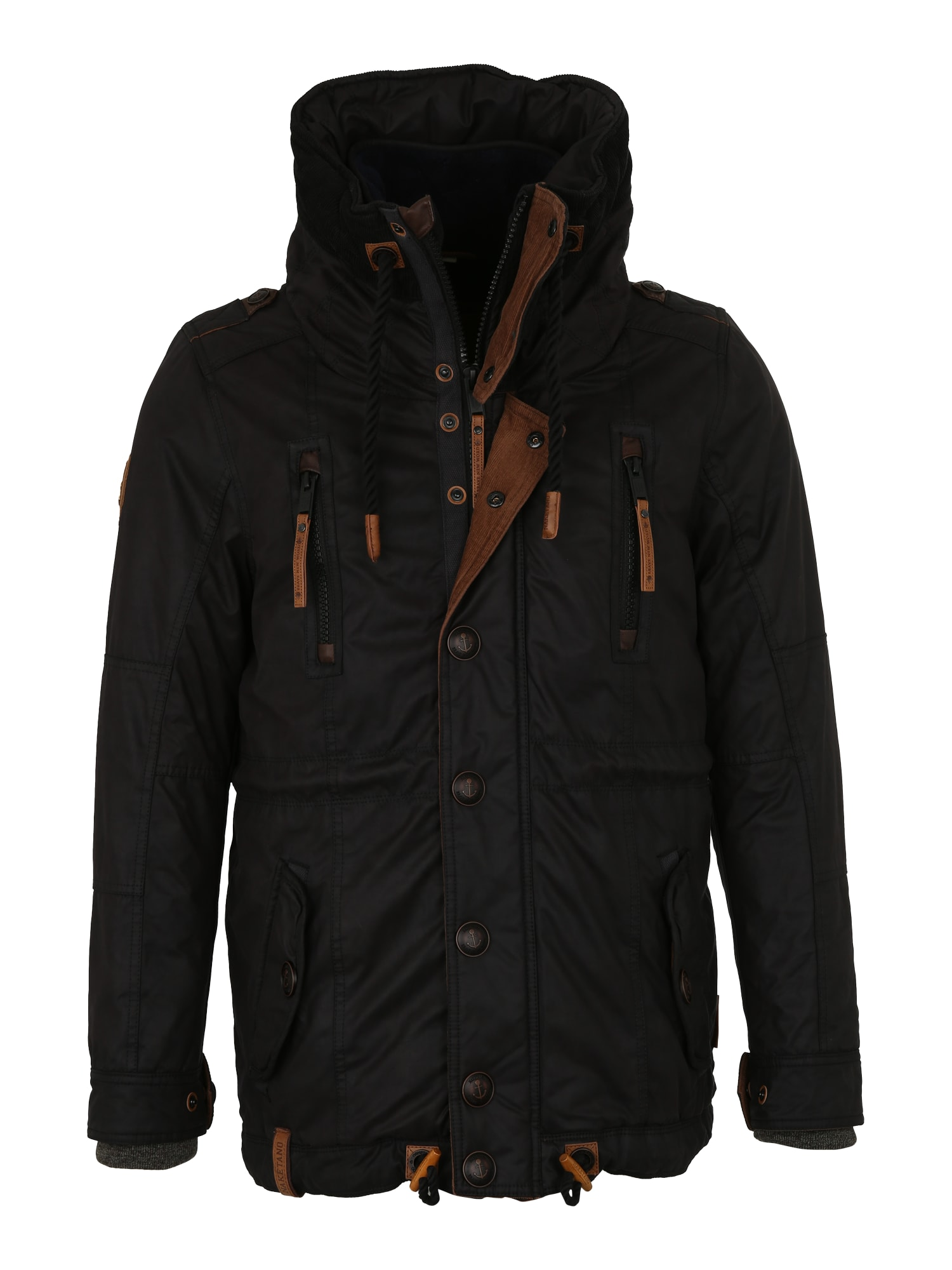 Zimní bunda Die Yaraks von Cleveland černá Naketano