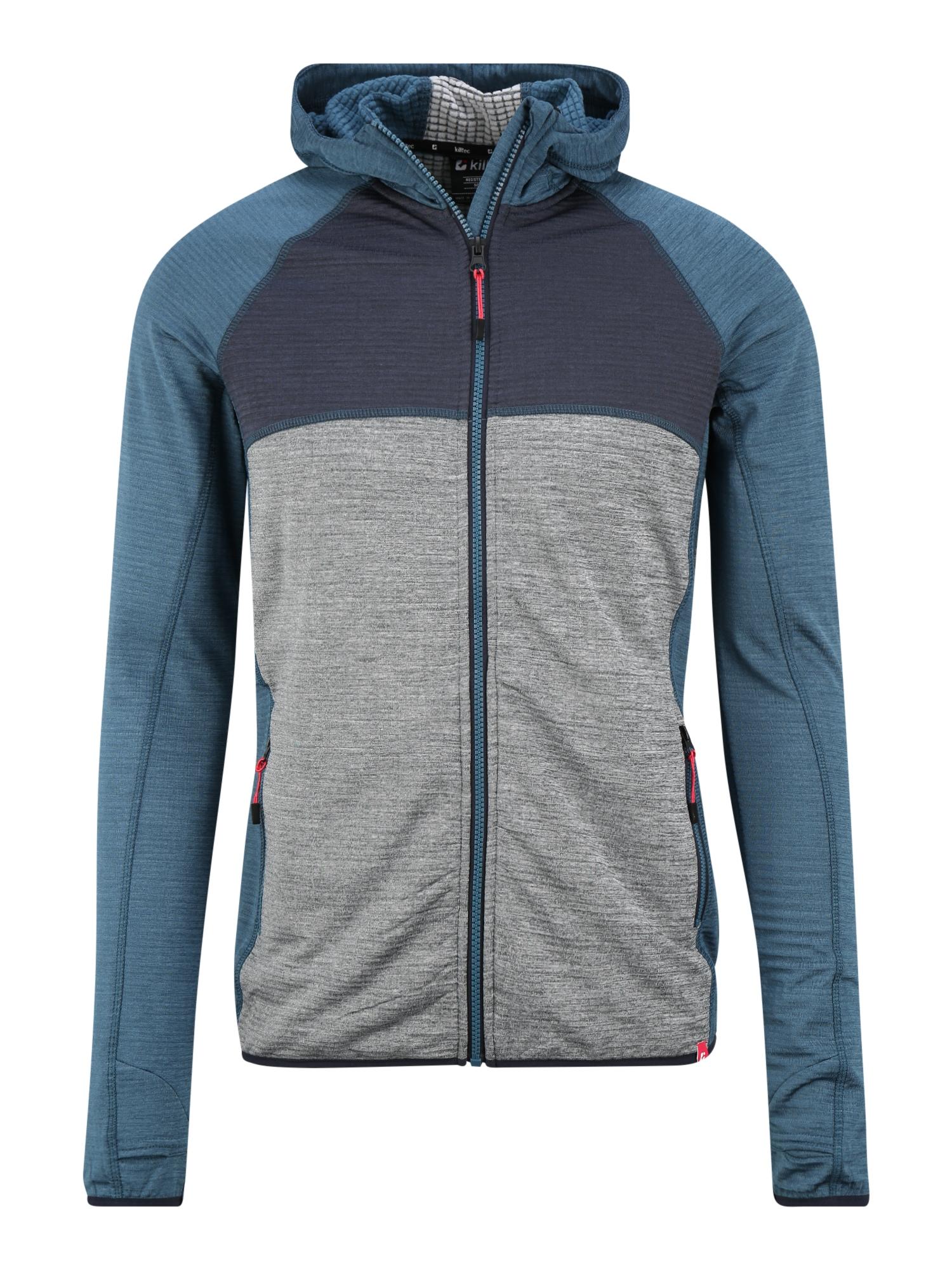 KILLTEC Sportovní bunda 'Mikan'  kouřově modrá