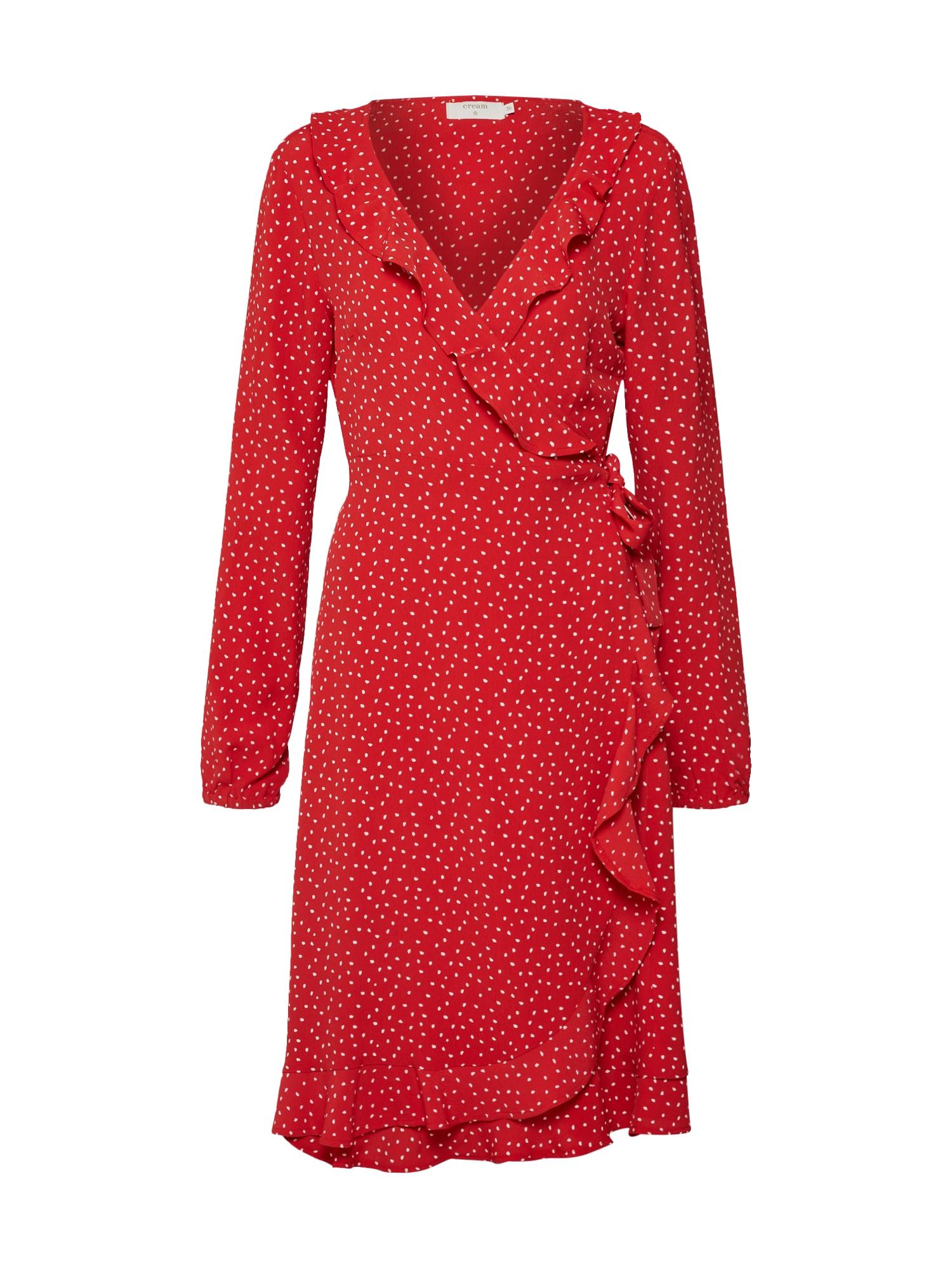 Šaty Alison  světle červená Cream