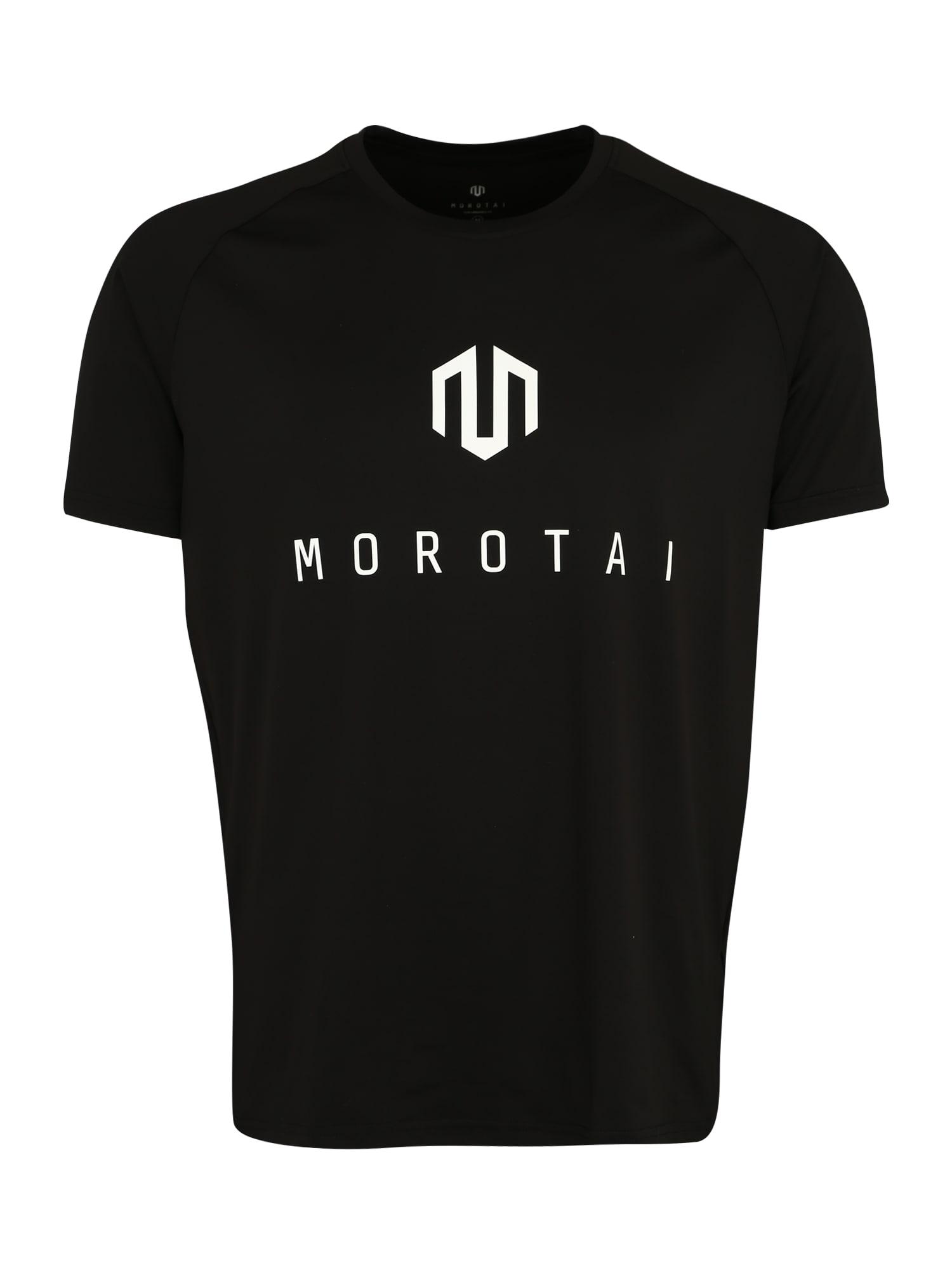 Funkční tričko Performance Basic schwarz weiß MOROTAI