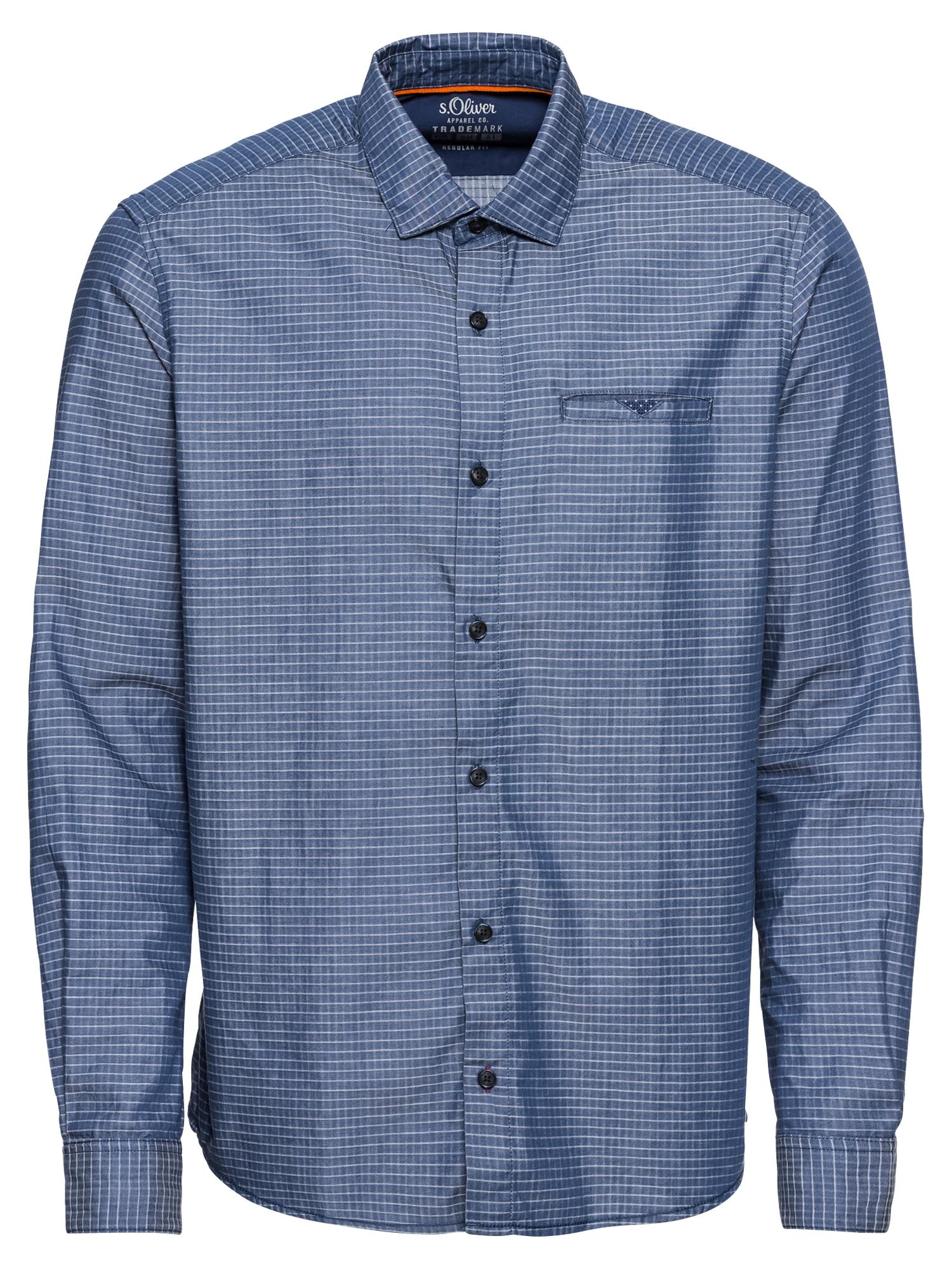 Košile modrá S.Oliver RED LABEL