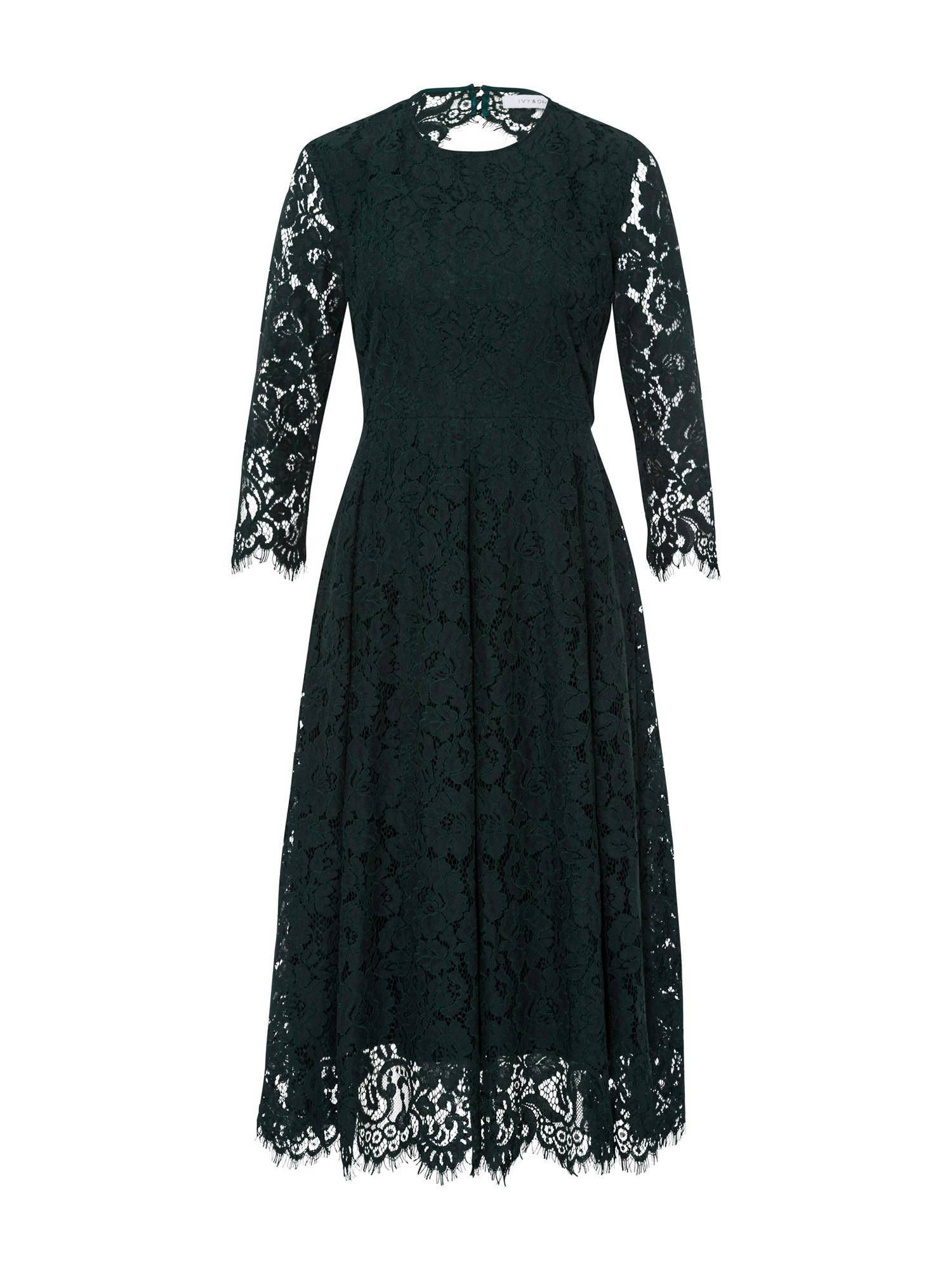 Šaty tmavě zelená IVY & OAK