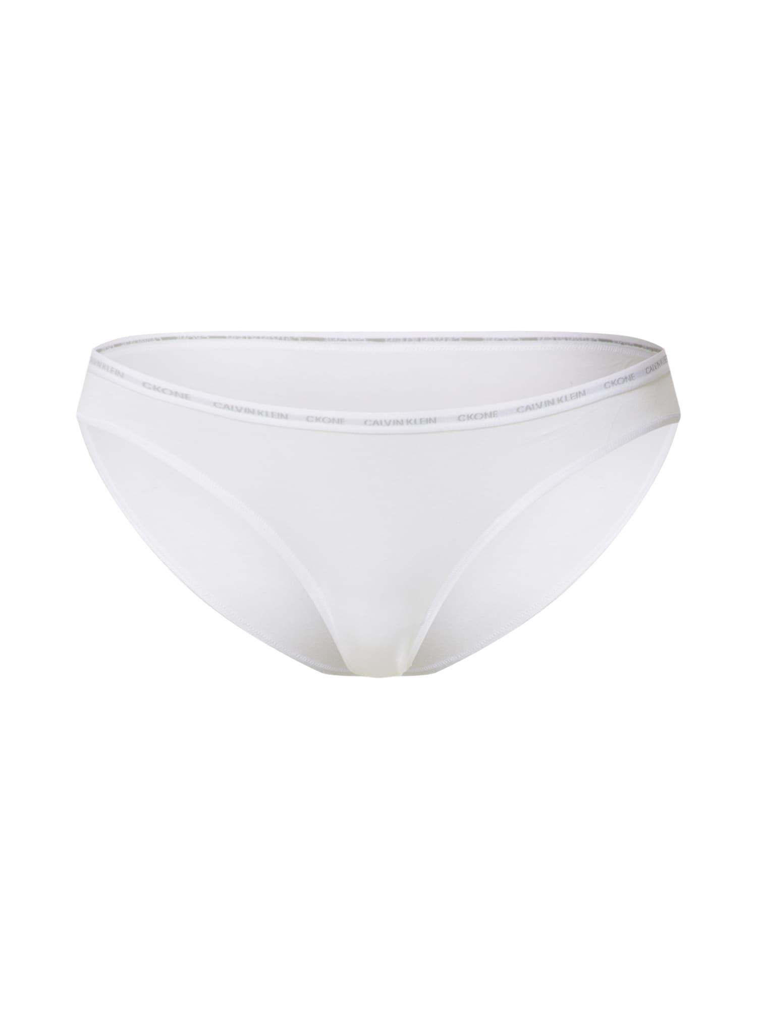 Calvin Klein Underwear Kalhotky 'BIKINI 2PK'  bílá