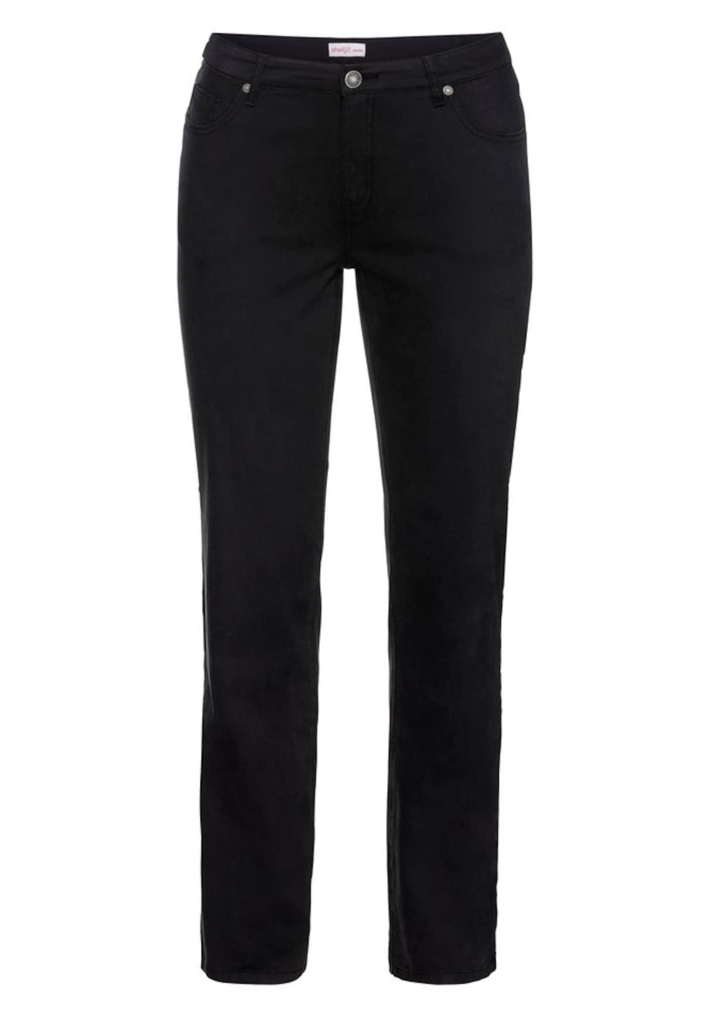 5-Pocket-Hose | Bekleidung > Hosen > 5-Pocket-Hosen | Schwarz | SHEEGO