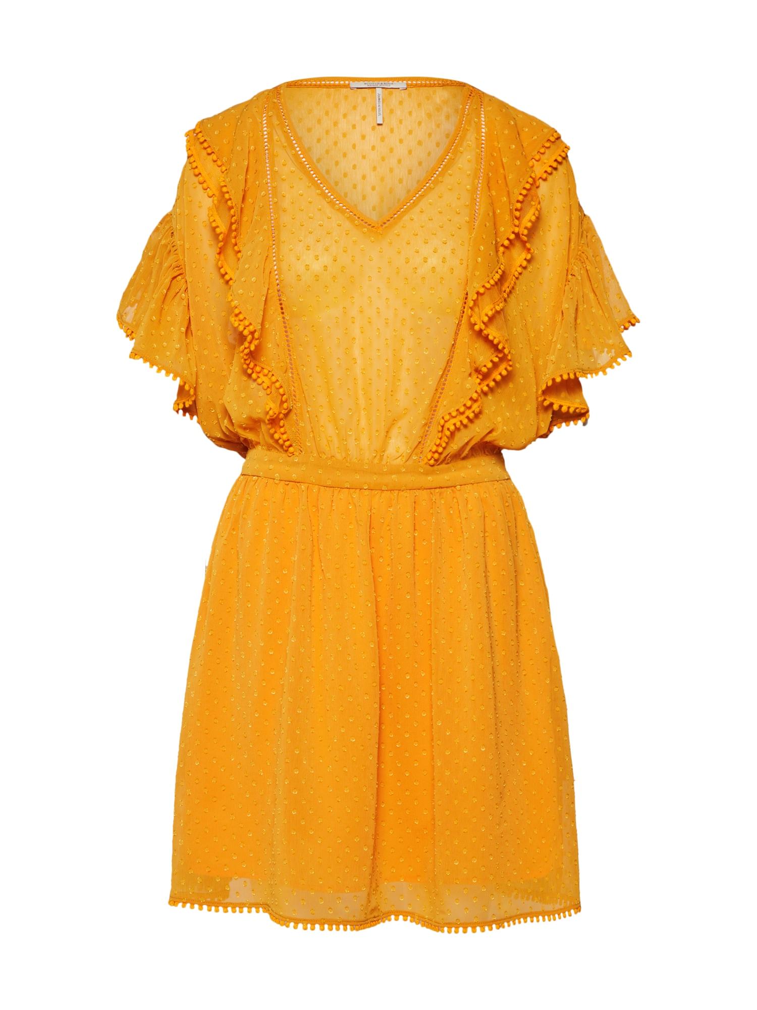 Šaty žlutá SCOTCH & SODA